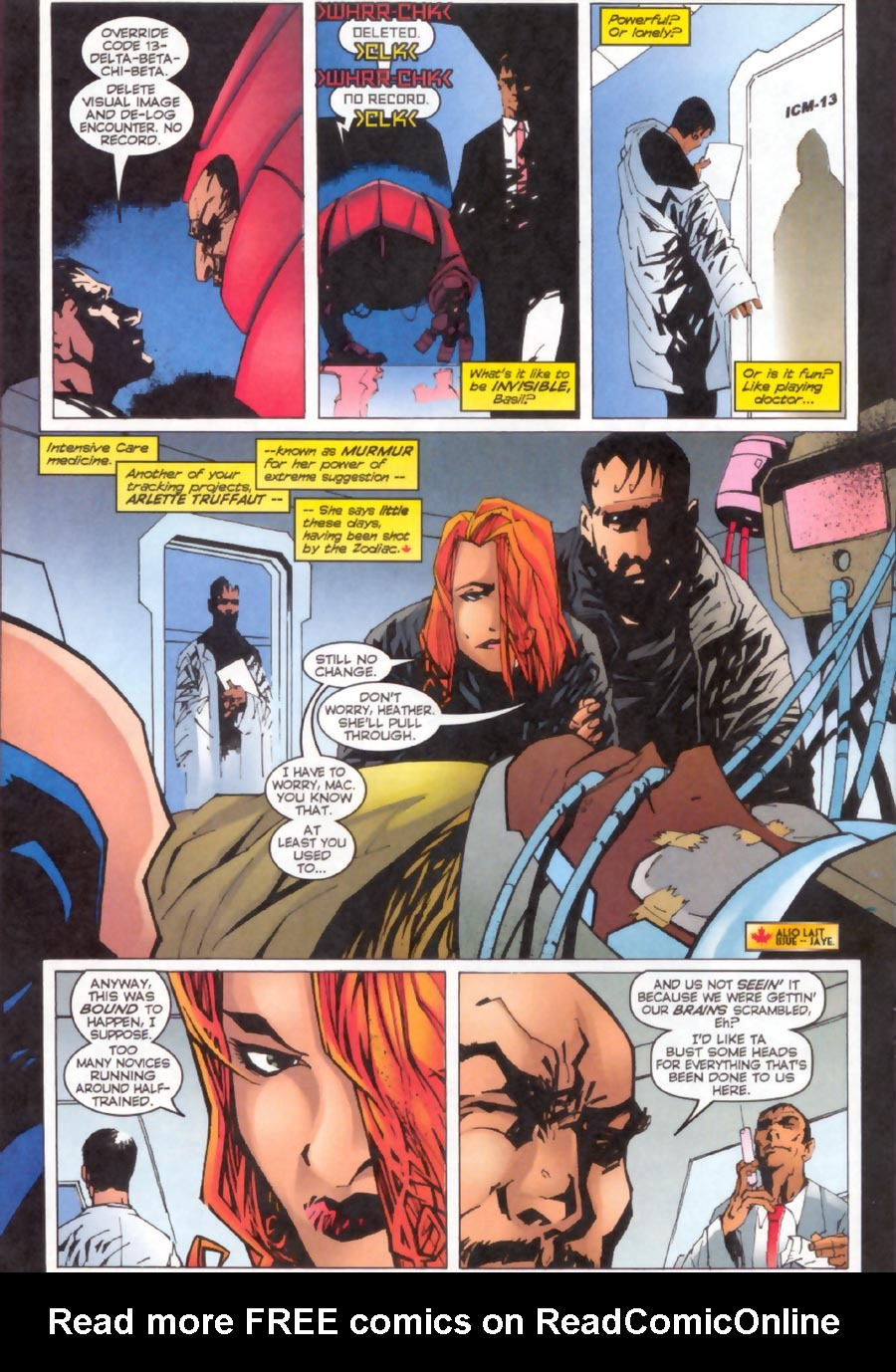 Read online Alpha Flight (1997) comic -  Issue #13 - 14