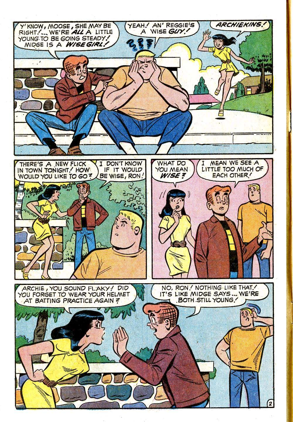Read online Archie (1960) comic -  Issue #209 - 4