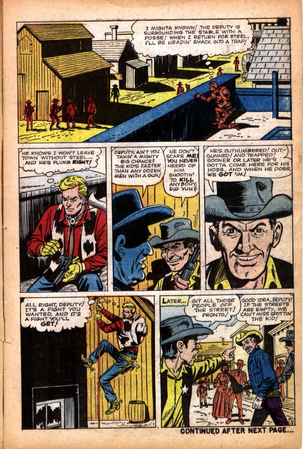 Gunsmoke Western issue 66 - Page 7