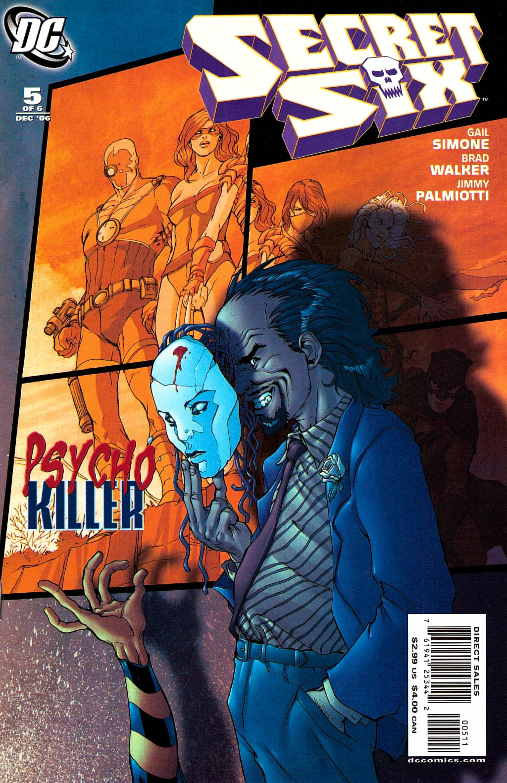 Read online Secret Six (2006) comic -  Issue #5 - 1