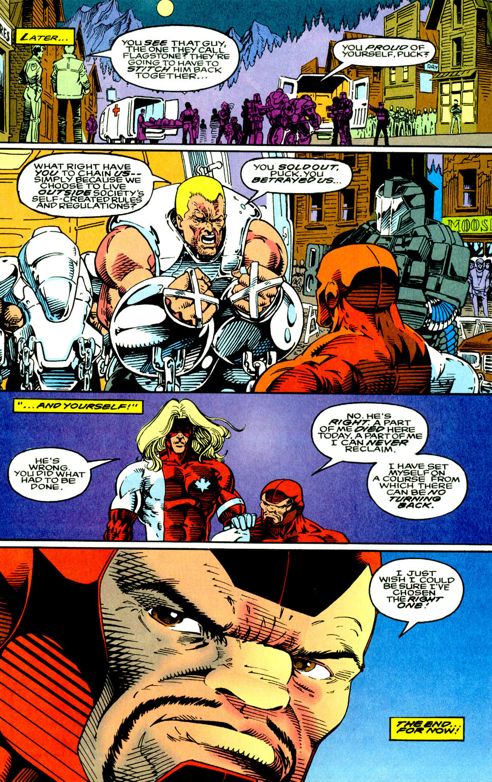 Read online Alpha Flight (1983) comic -  Issue #123 - 23