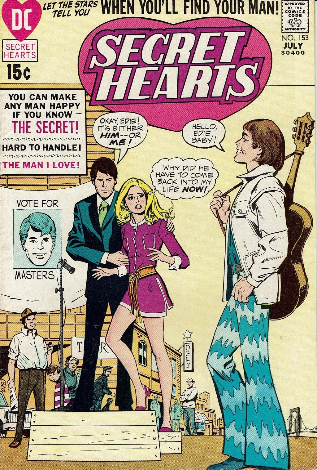 Read online Secret Hearts comic -  Issue #153 - 1