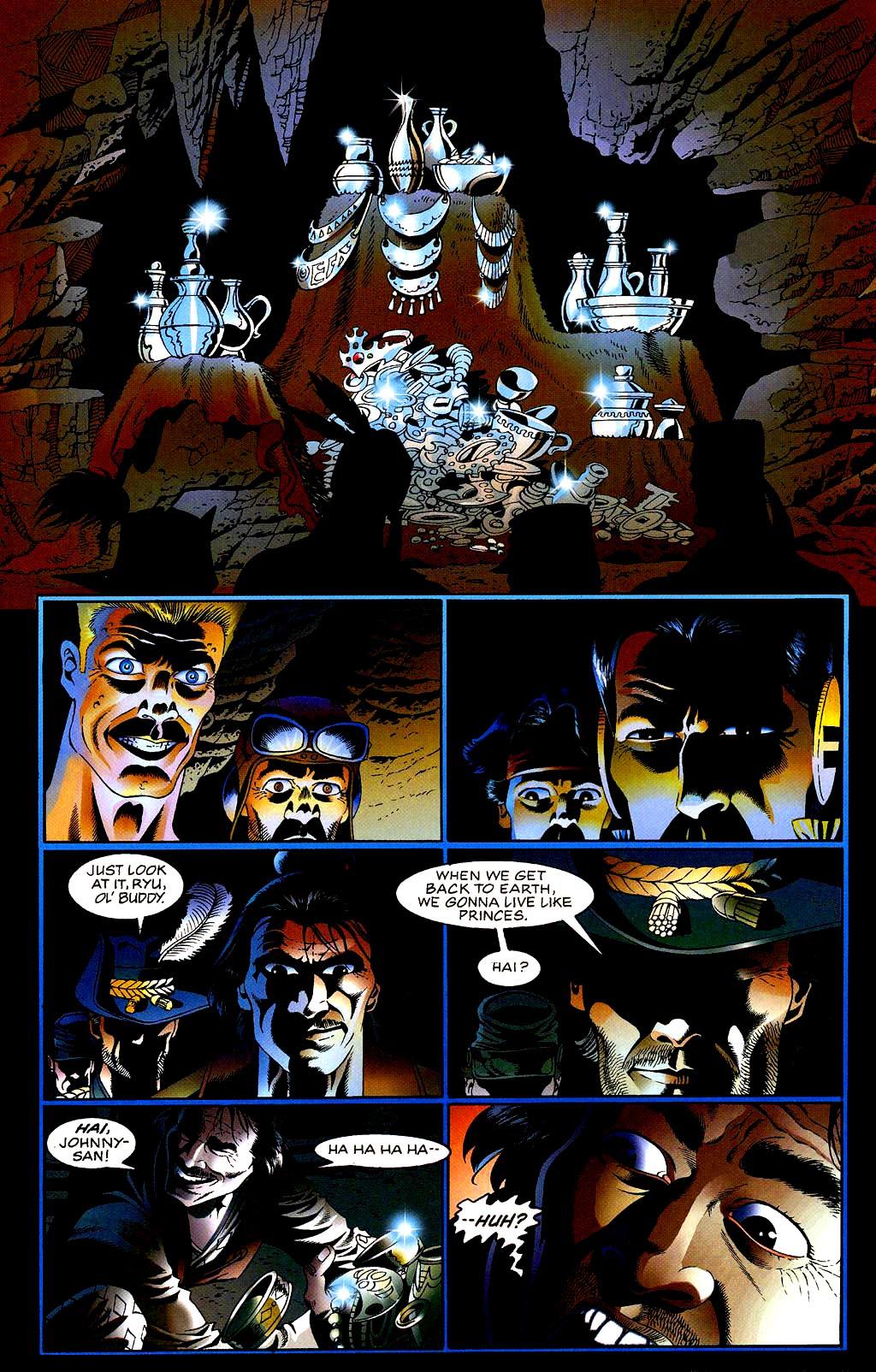 Read online Turok, Dinosaur Hunter (1993) comic -  Issue #40 - 16