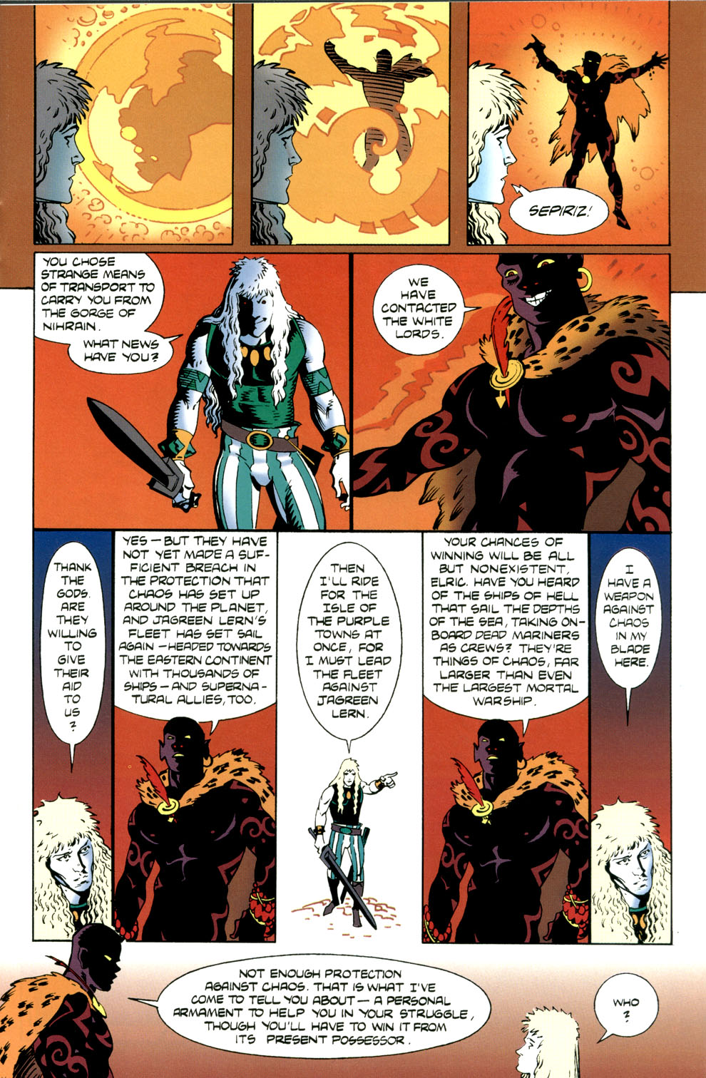 Read online Elric: Stormbringer comic -  Issue #4 - 13