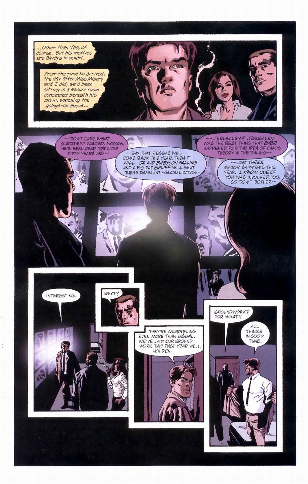 Read online Sleeper comic -  Issue #4 - 5