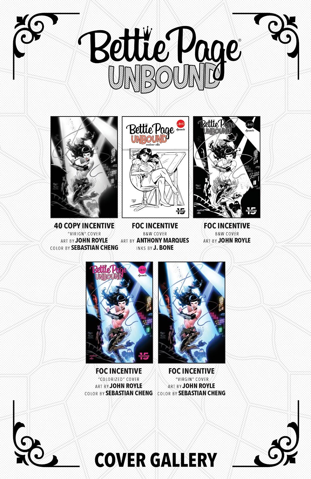 Read online Bettie Page: Unbound comic -  Issue #10 - 29