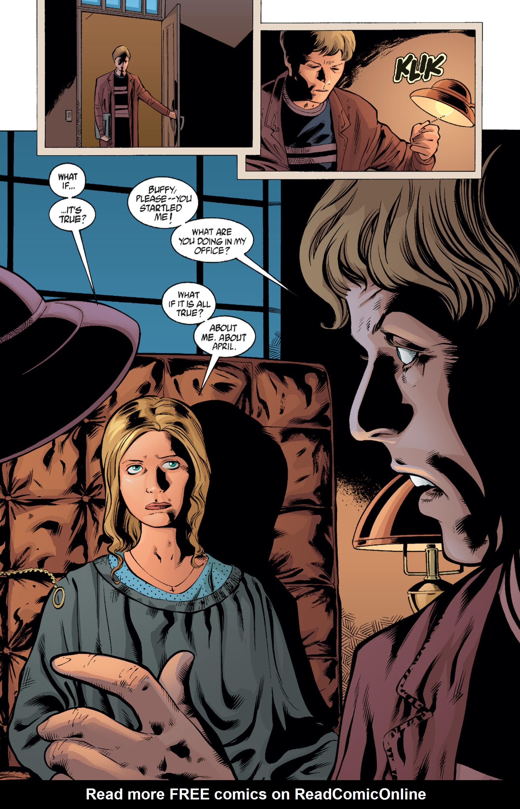 Read online Buffy the Vampire Slayer: Omnibus comic -  Issue # TPB 1 - 272