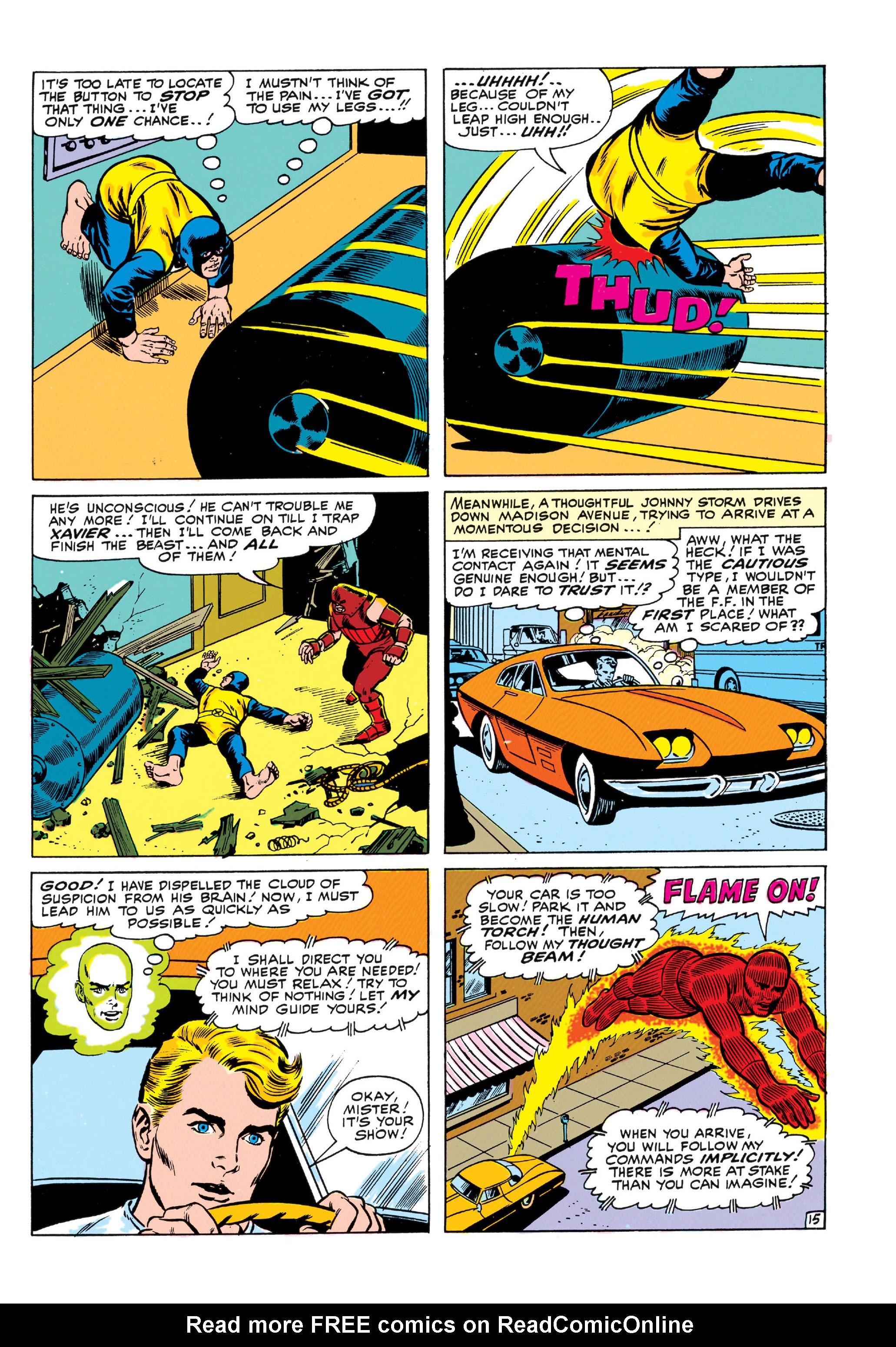 Read online Uncanny X-Men (1963) comic -  Issue #13 - 16