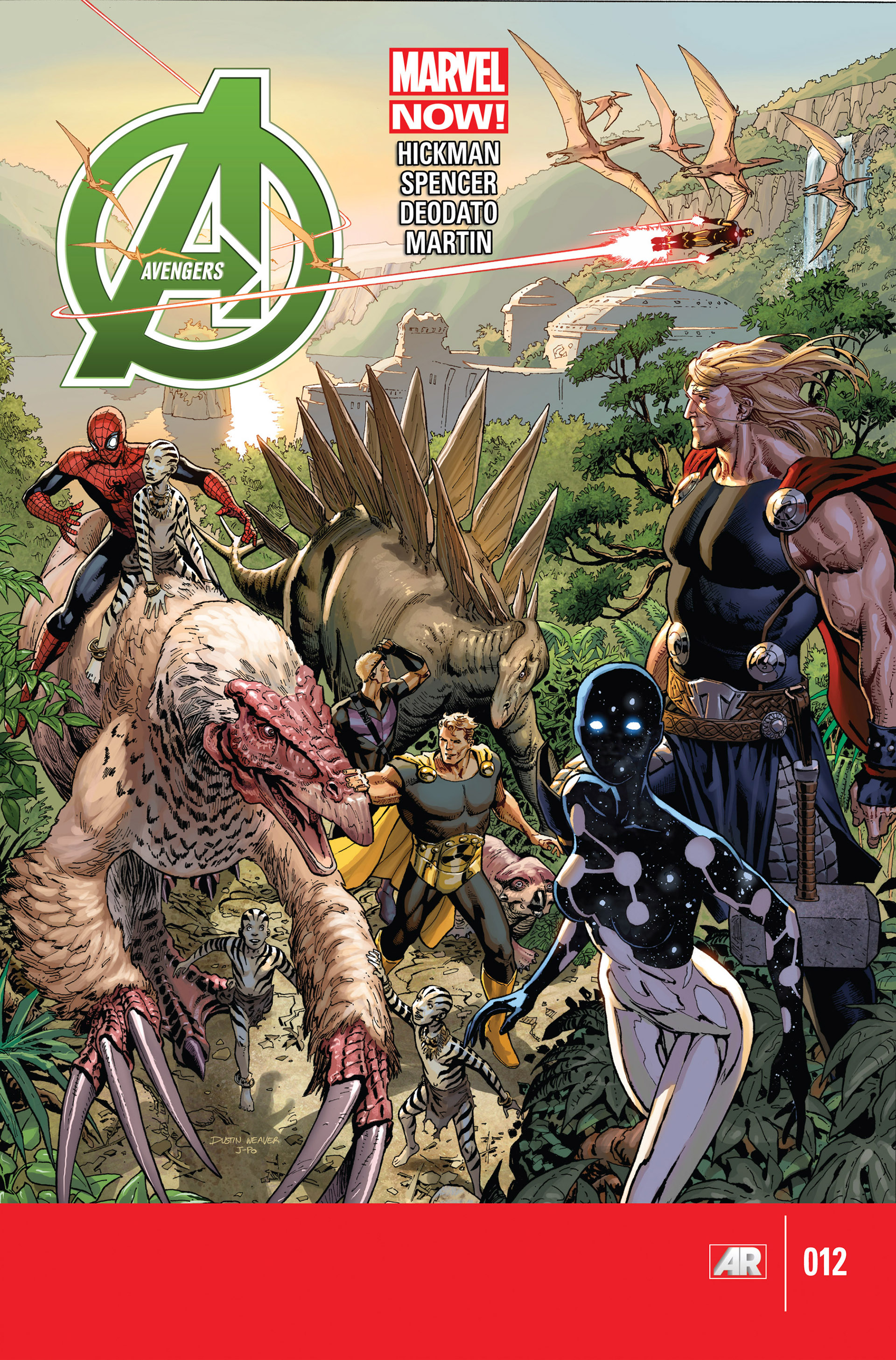 Read online Avengers (2013) comic -  Issue #12 - 1