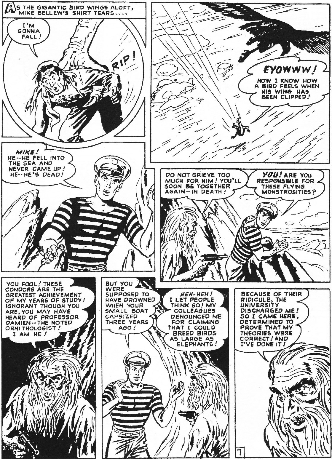 Read online Men of Mystery Comics comic -  Issue #70 - 64