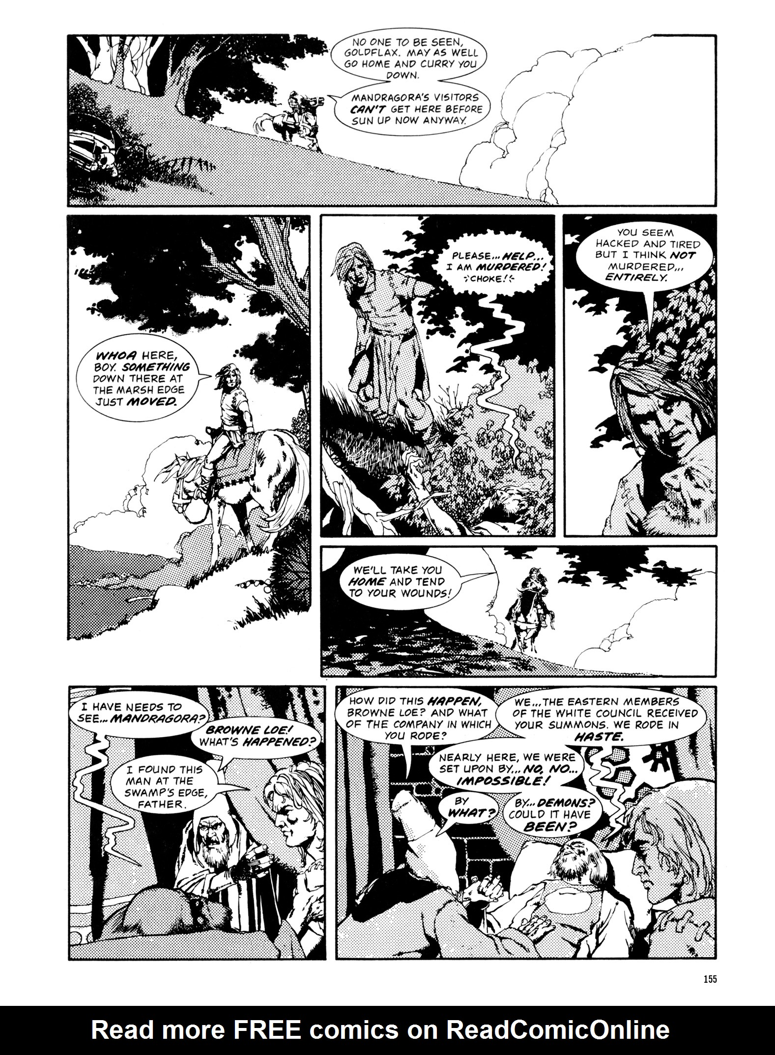 Read online Eerie Archives comic -  Issue # TPB 14 - 156
