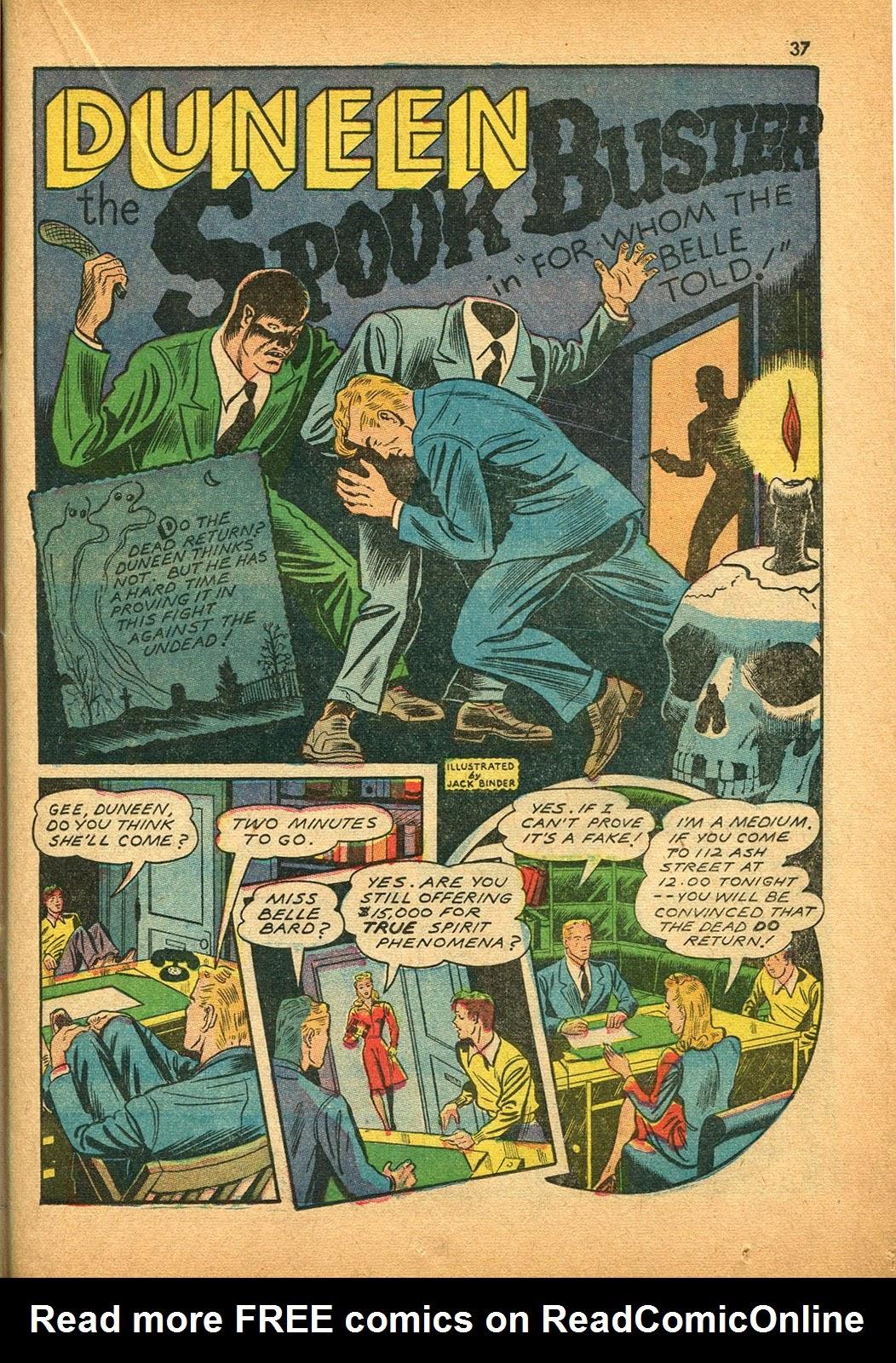 Read online Super-Magician Comics comic -  Issue #9 - 36