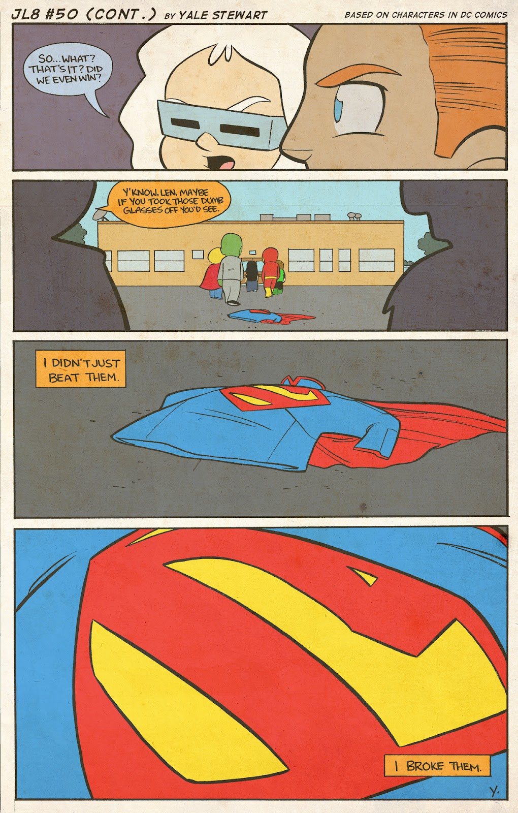 Read online JL8 – The Complete Collection comic -  Issue # TPB (Part 1) - 28