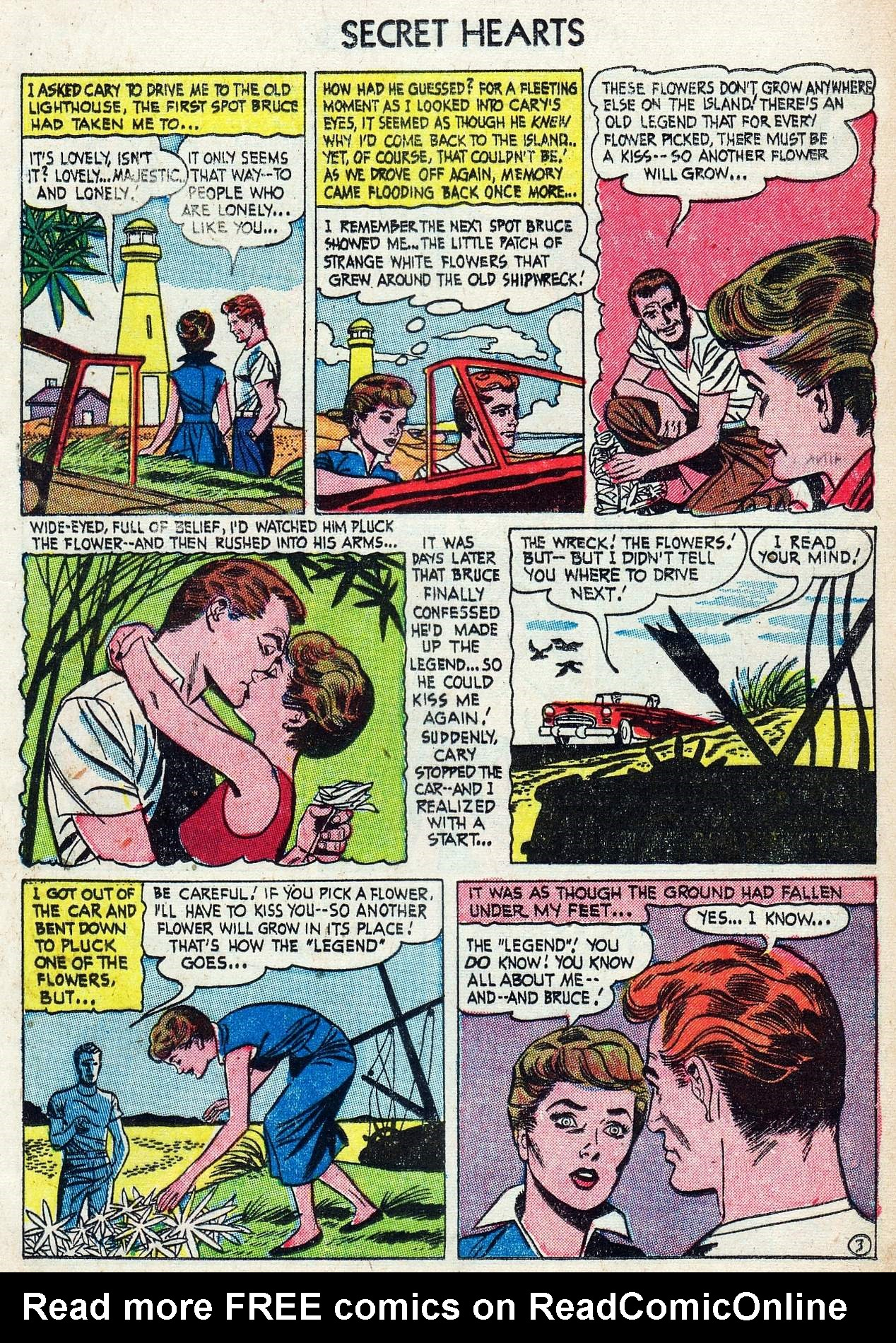 Read online Secret Hearts comic -  Issue #25 - 13