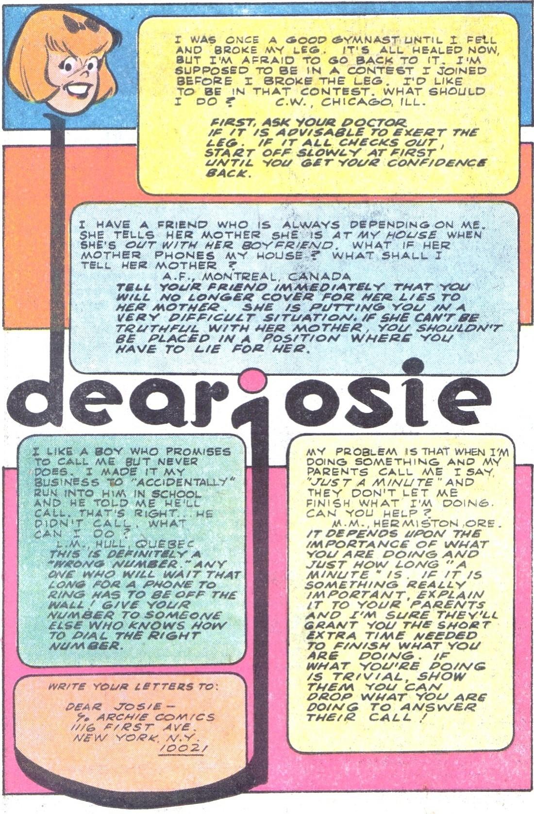 Read online She's Josie comic -  Issue #101 - 26