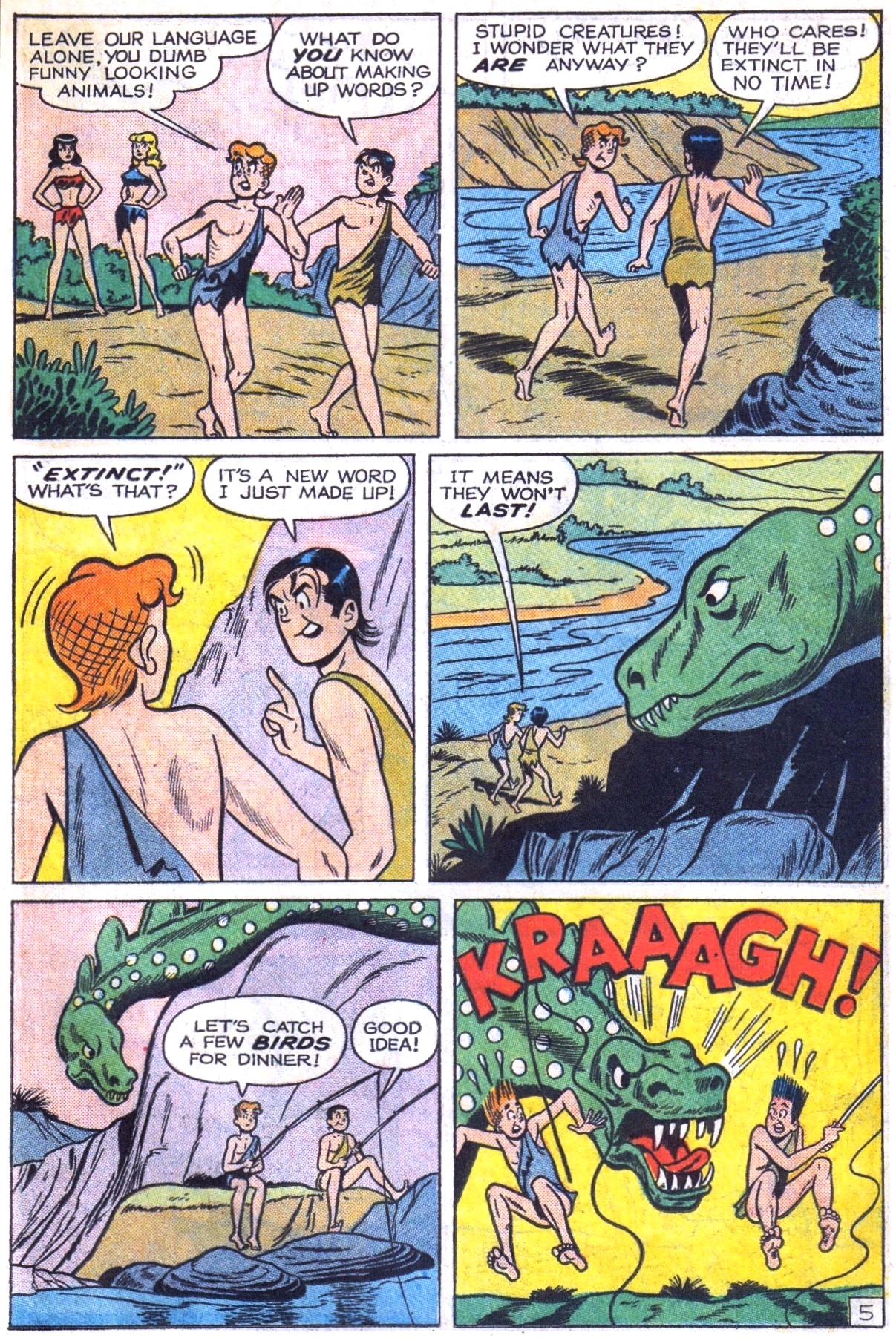 Read online Archie (1960) comic -  Issue #153 - 7