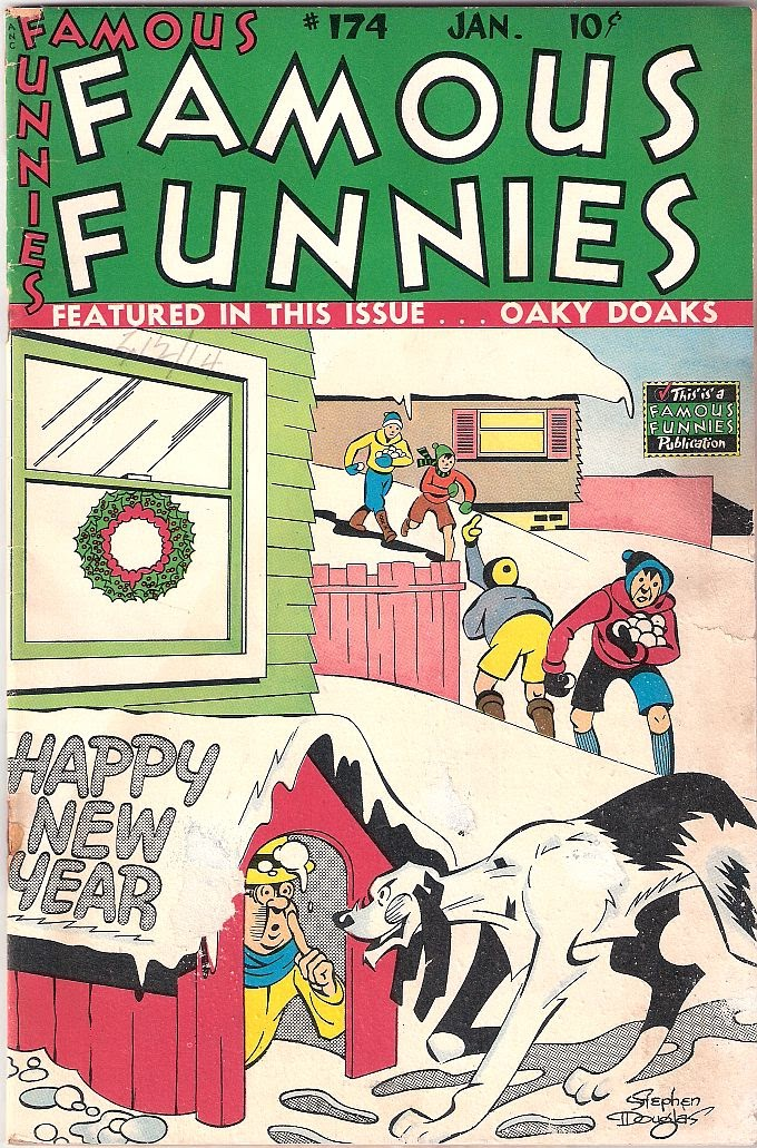 Read online Famous Funnies comic -  Issue #174 - 1