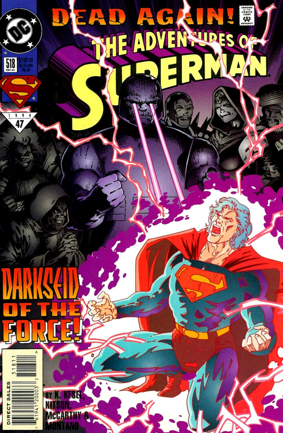 Read online Adventures of Superman (1987) comic -  Issue #518 - 1