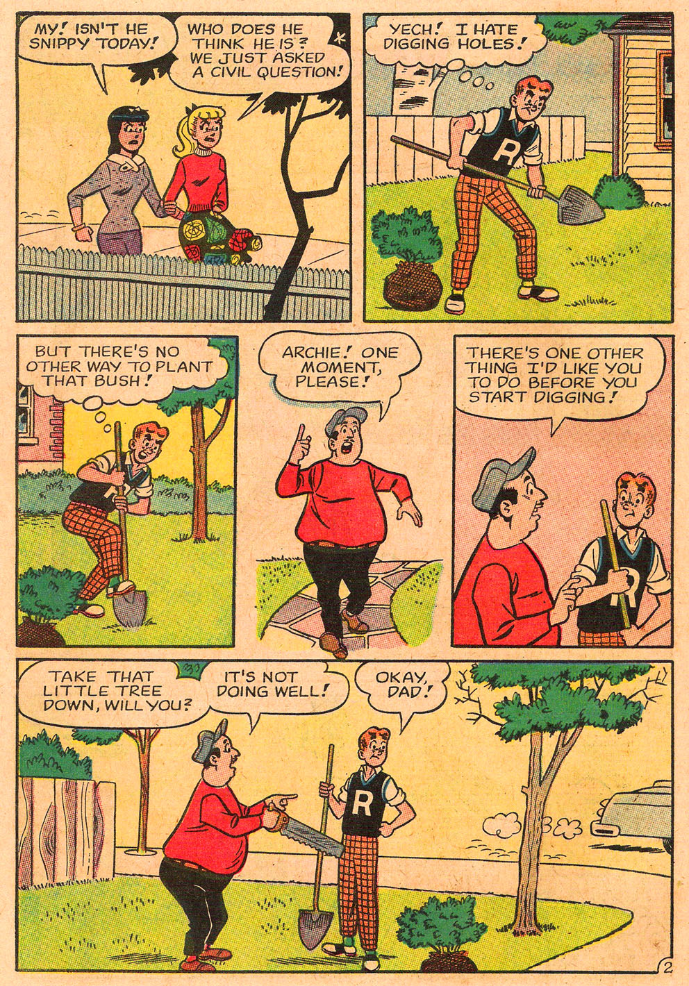 Read online Archie's Girls Betty and Veronica comic -  Issue #85 - 14