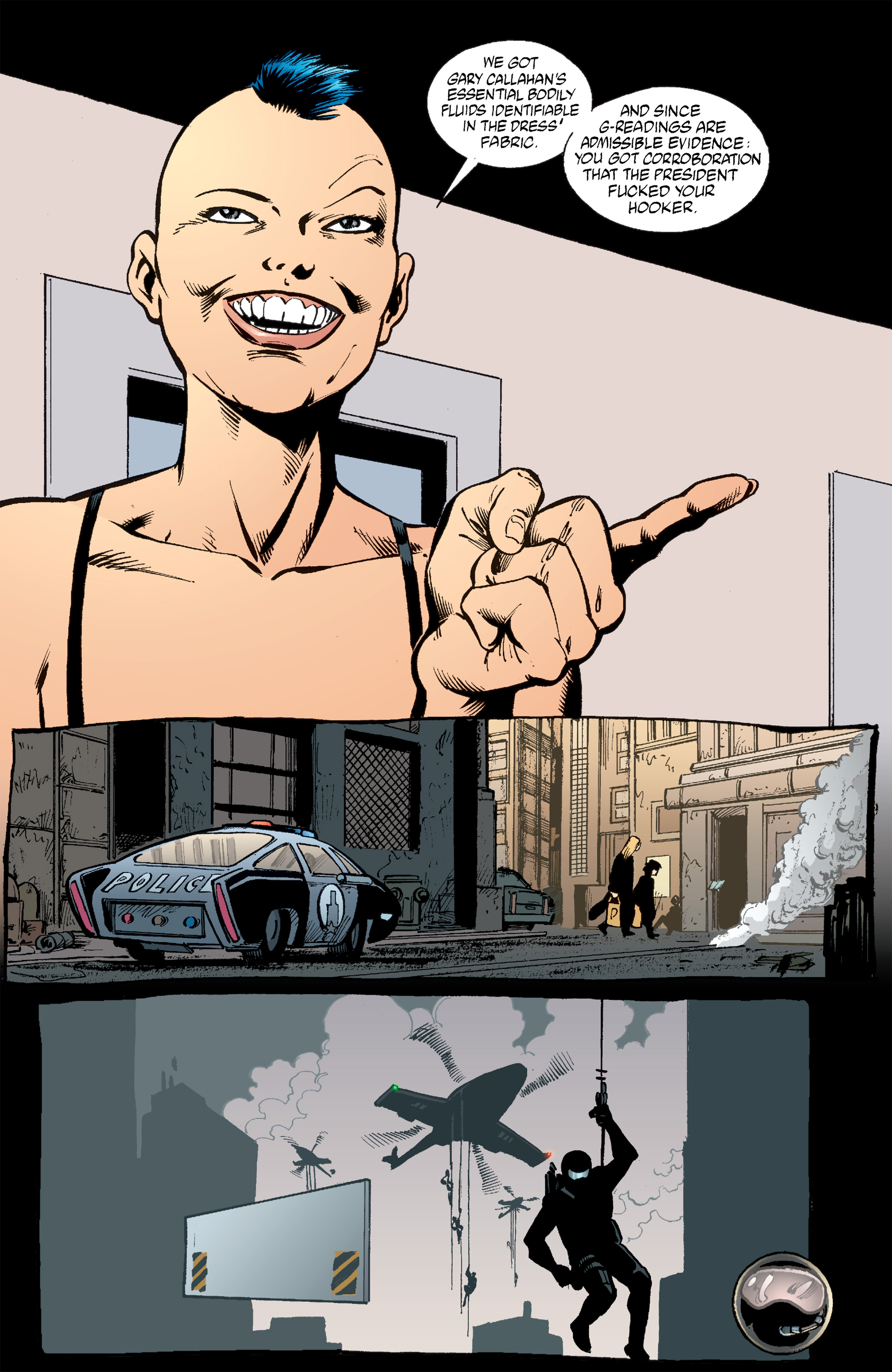 Read online Transmetropolitan comic -  Issue #53 - 23