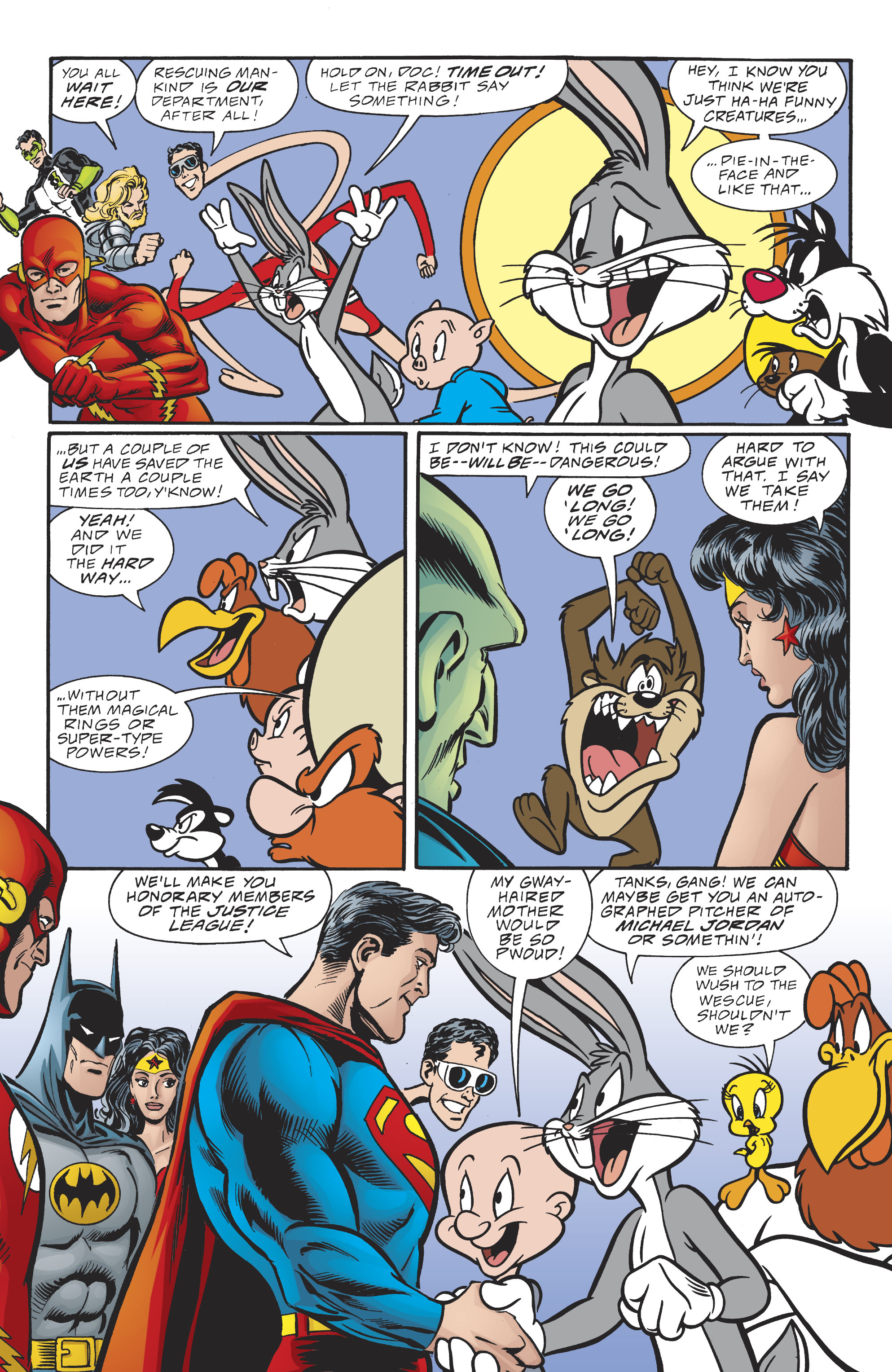 Read online DC/Looney Tunes 100-Page Super Spectacular comic -  Issue # Full - 68