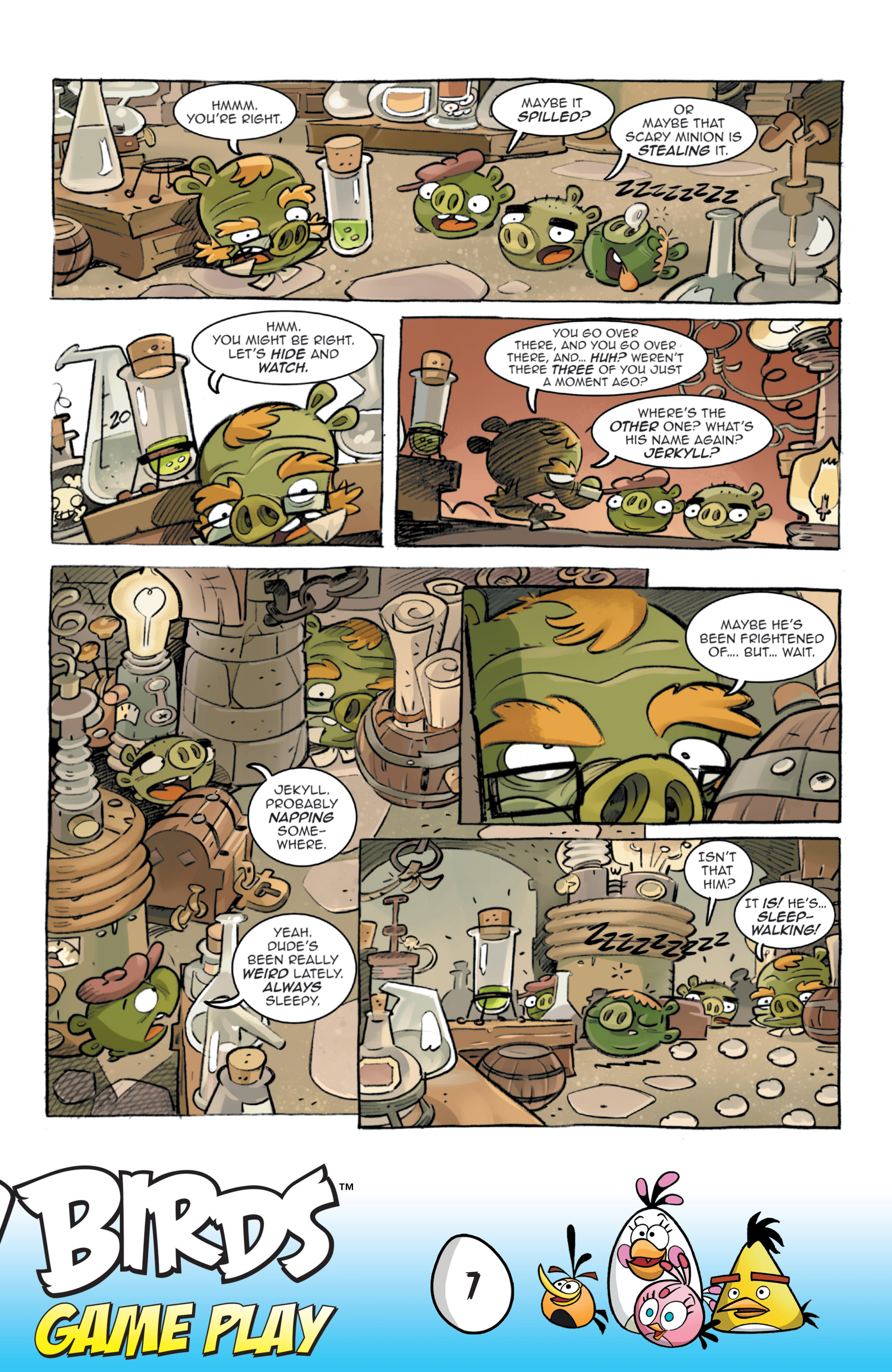 Read online Angry Birds Comics: Game Play comic -  Issue #3 - 9