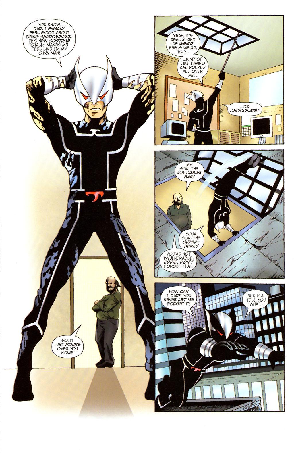 Read online ShadowHawk (2005) comic -  Issue #14 - 3