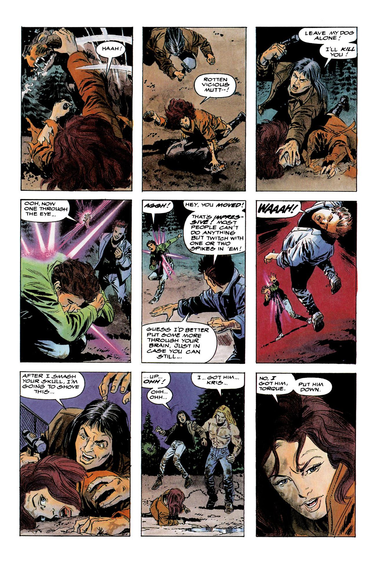 Read online Harbinger (1992) comic -  Issue #4 - 22