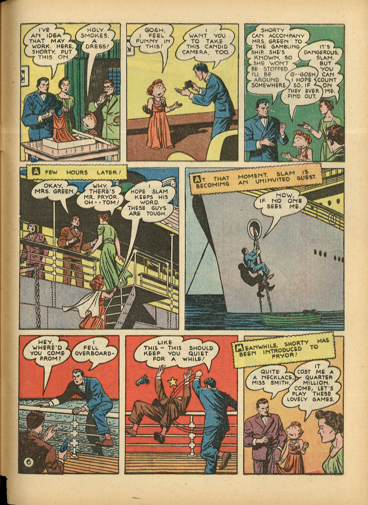 Read online Detective Comics (1937) comic -  Issue #55 - 63