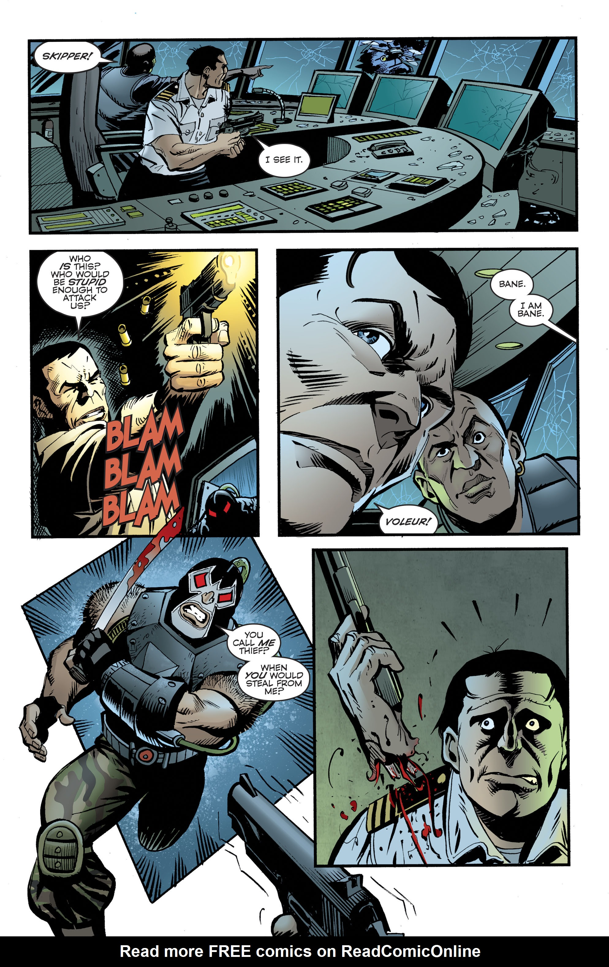 Read online Bane: Conquest comic -  Issue #1 - 8