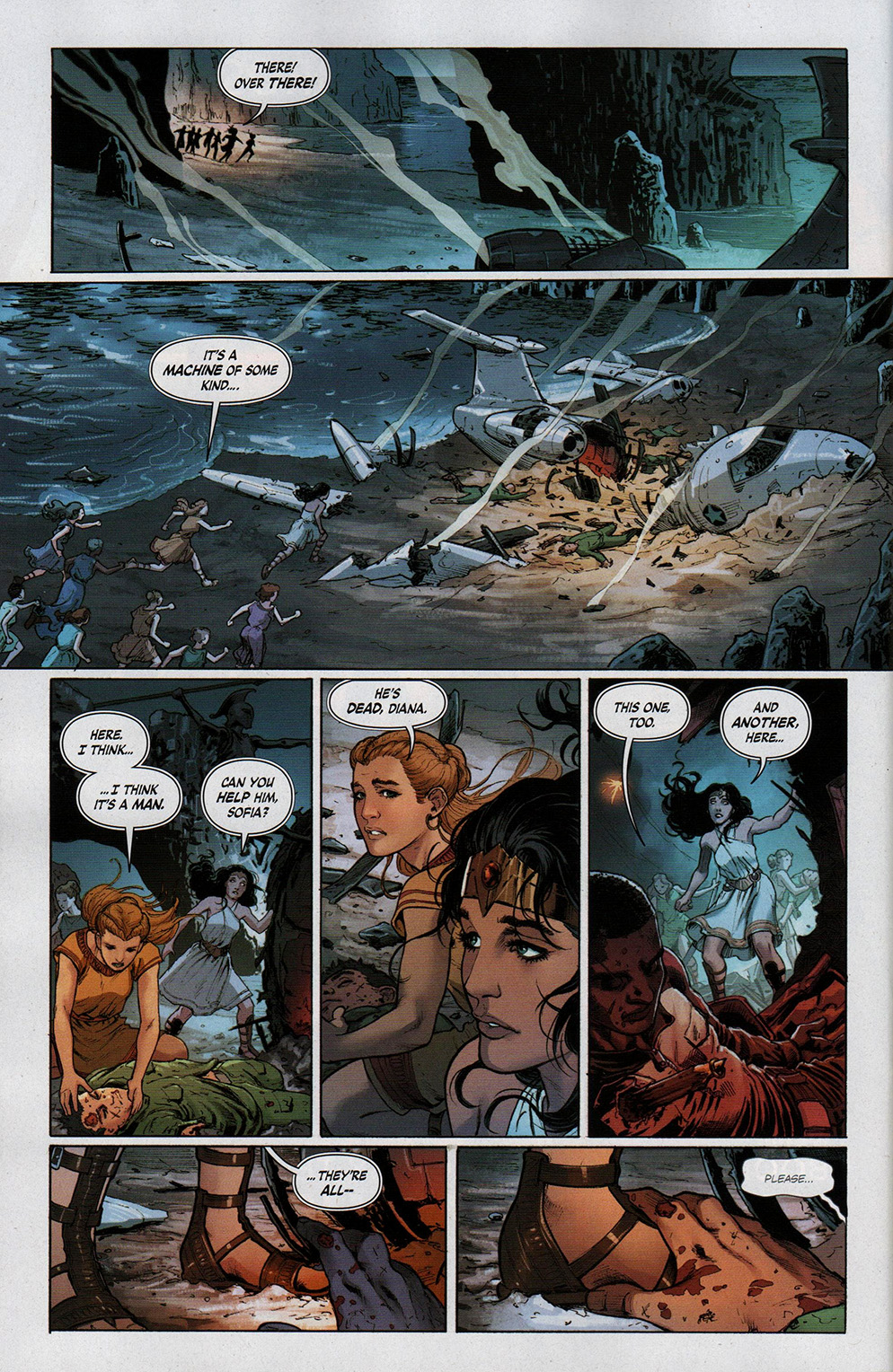Read online Free Comic Book Day 2017 comic -  Issue # Wonder Woman 1 - 18