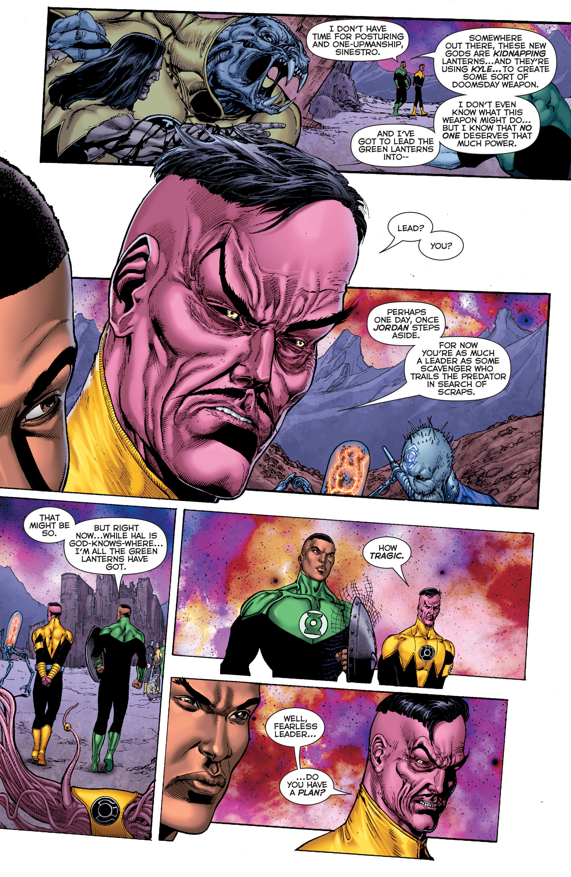 Read online Sinestro comic -  Issue #7 - 8