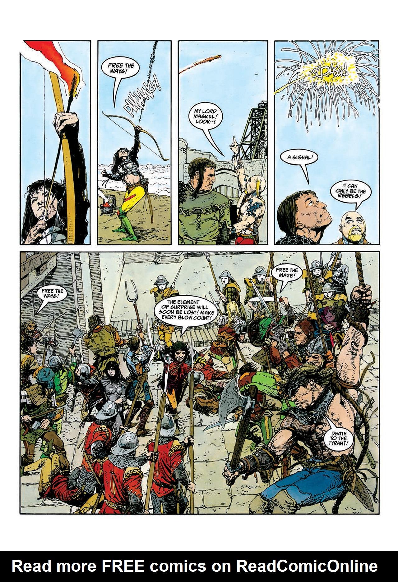 Read online Mazeworld comic -  Issue # TPB - 44