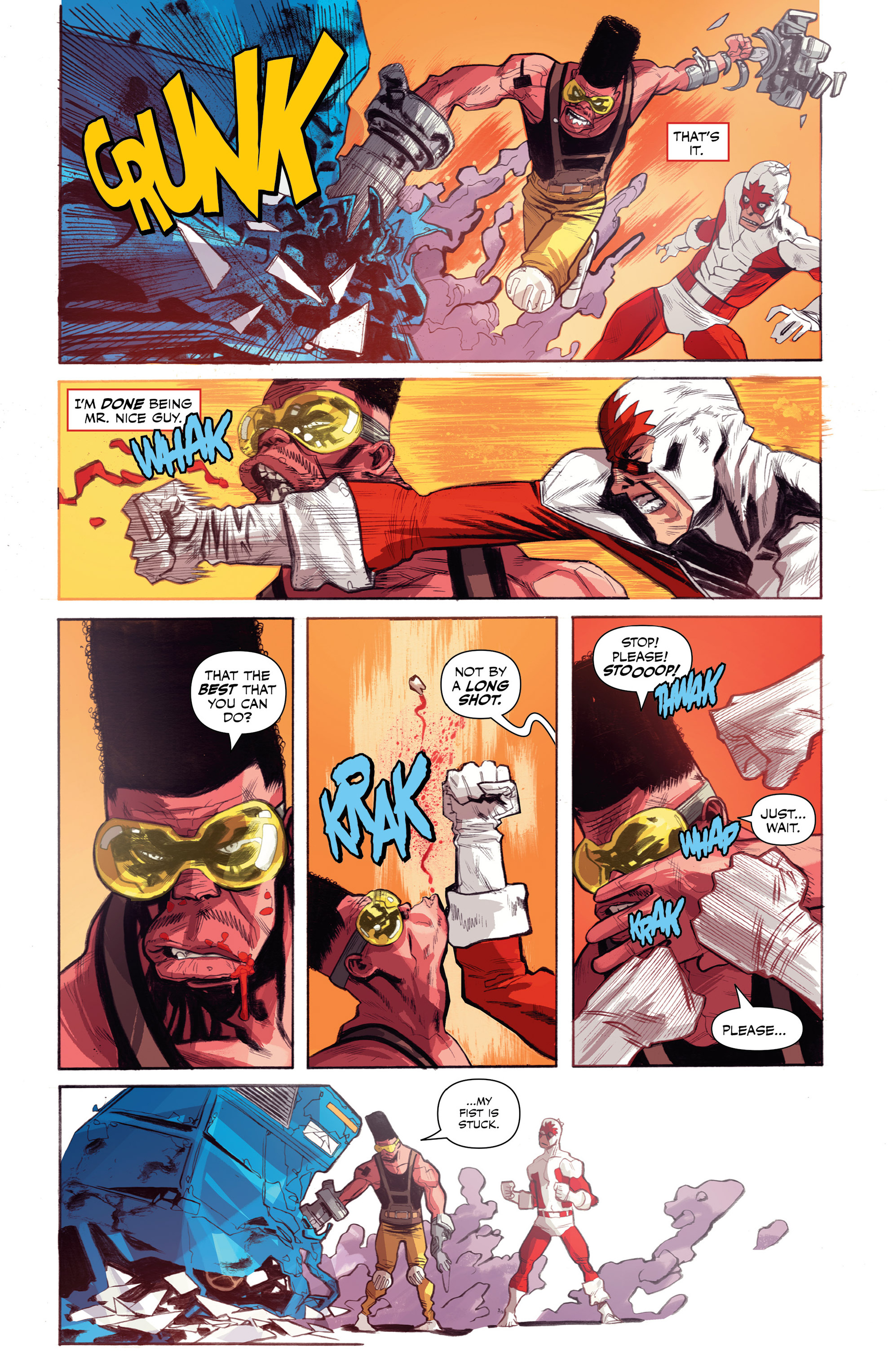 Read online All-New Classic Captain Canuck comic -  Issue #0 - 33