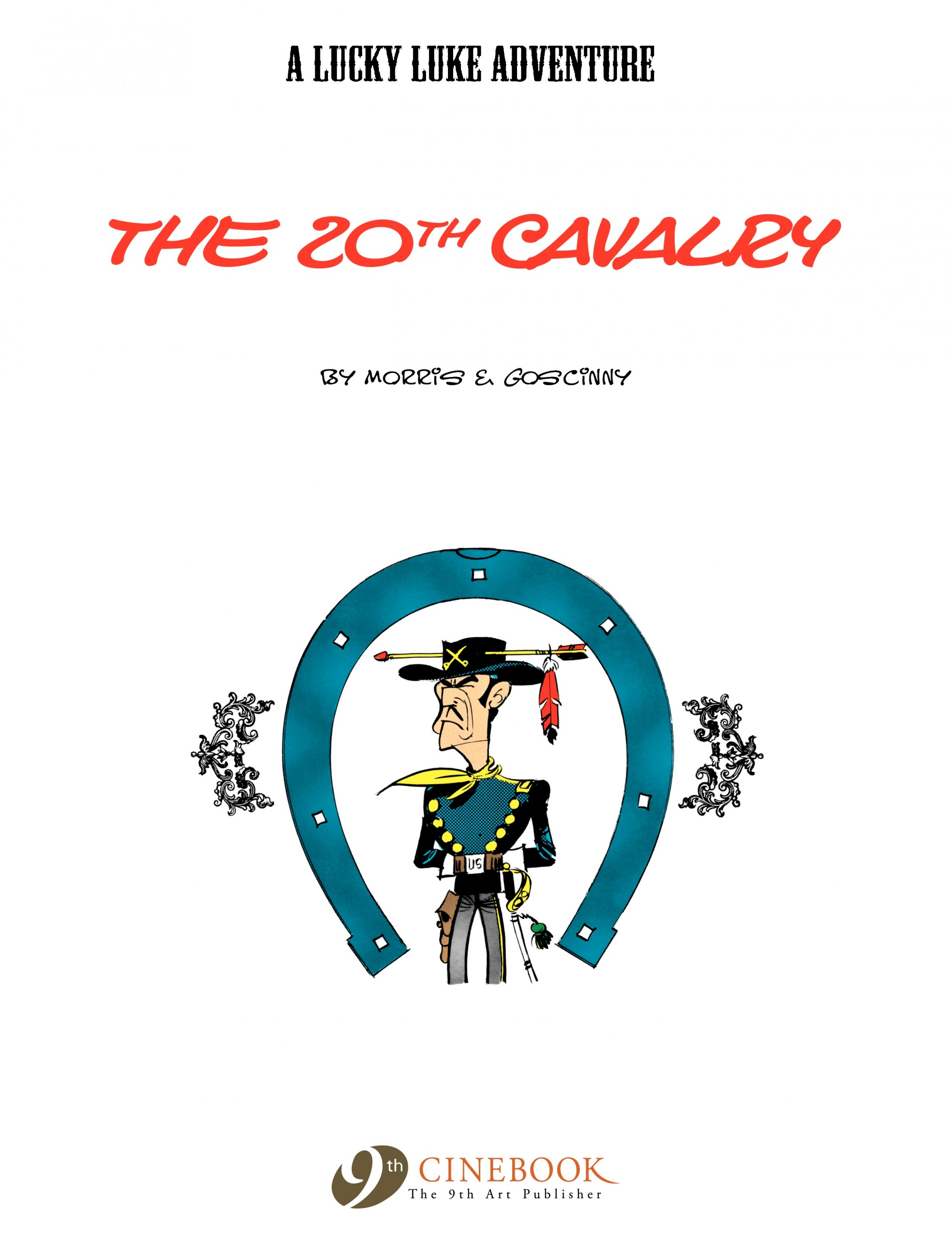 Read online A Lucky Luke Adventure comic -  Issue #21 - 2
