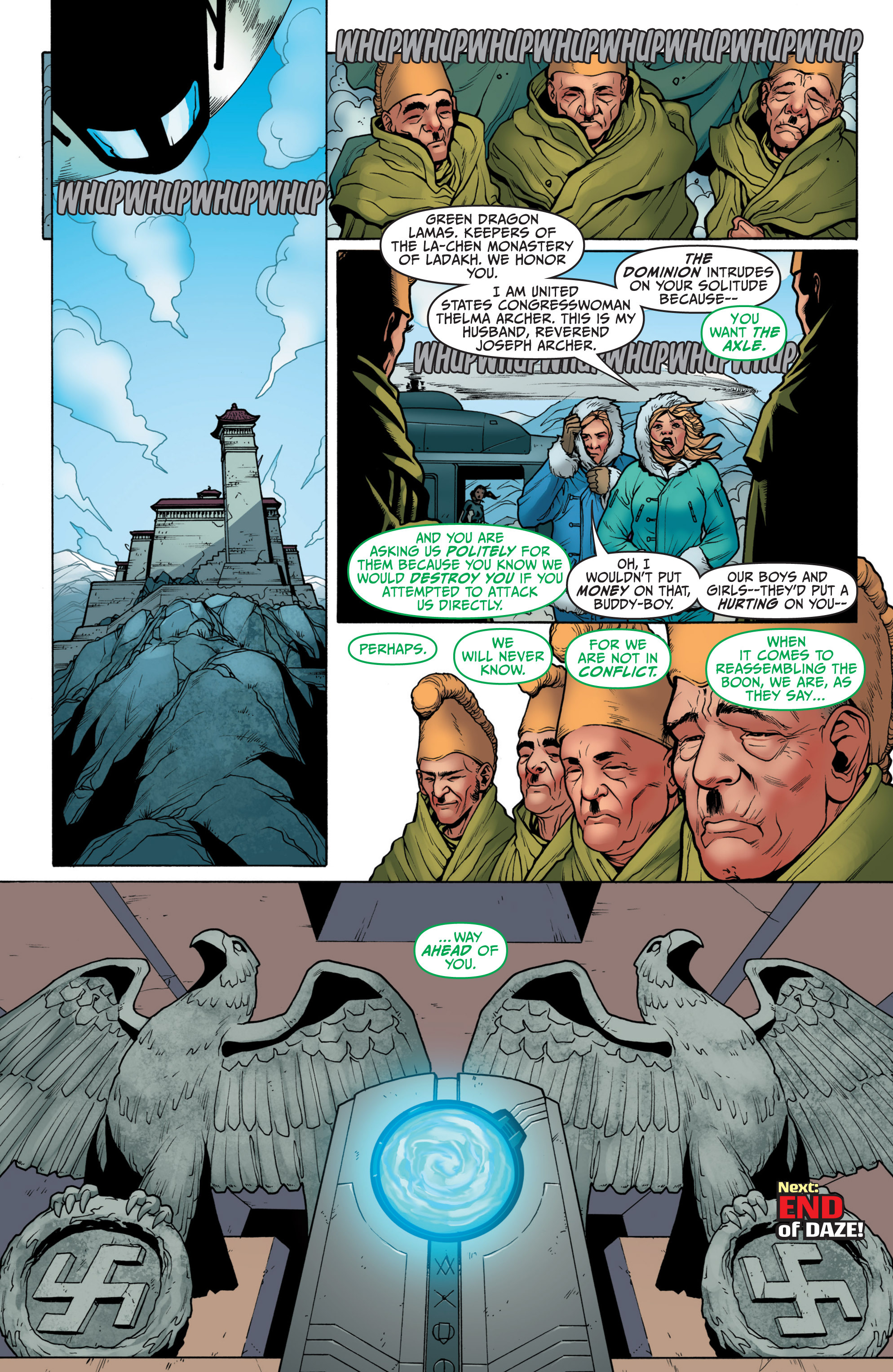 Read online Archer and Armstrong comic -  Issue #3 - 24