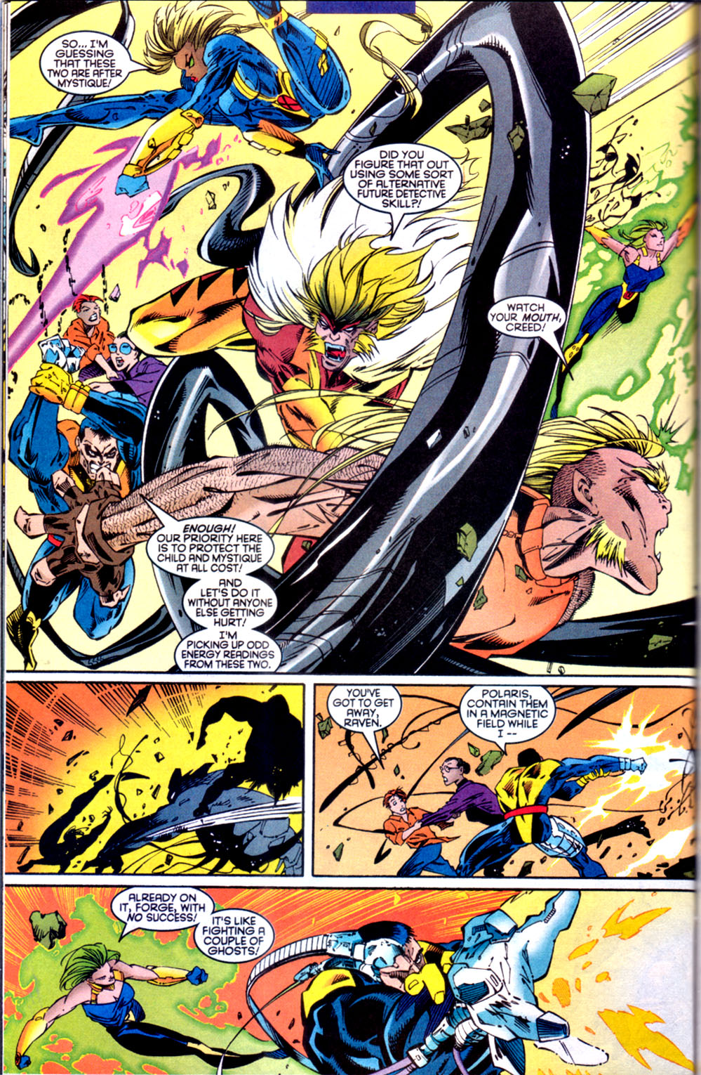 Read online X-Factor (1986) comic -  Issue #134 - 21