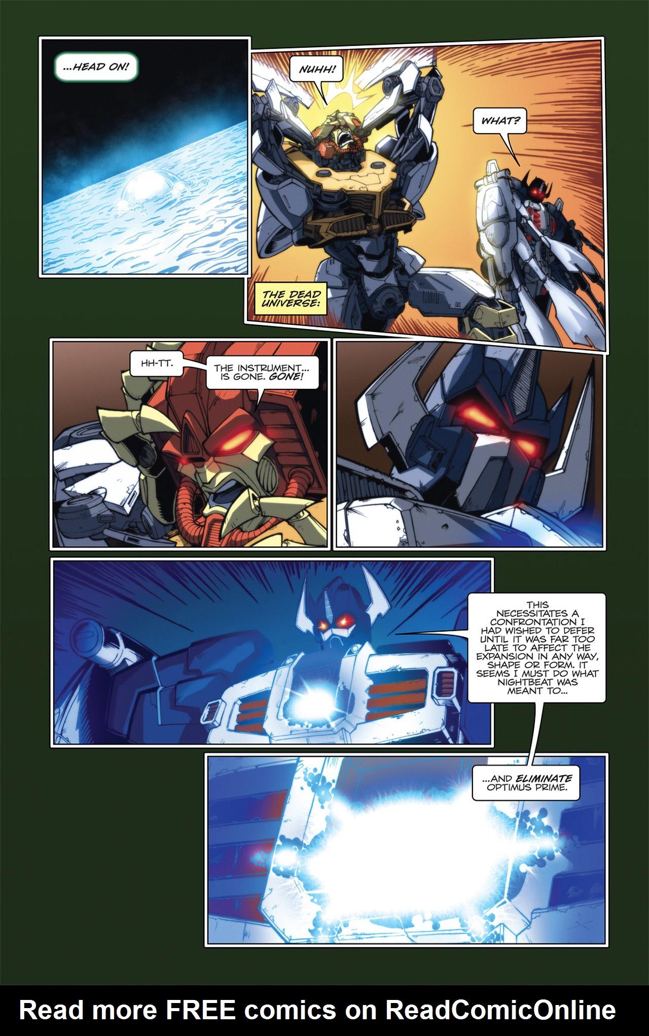 Read online Transformers Spotlight: Hardhead comic -  Issue # Full - 24