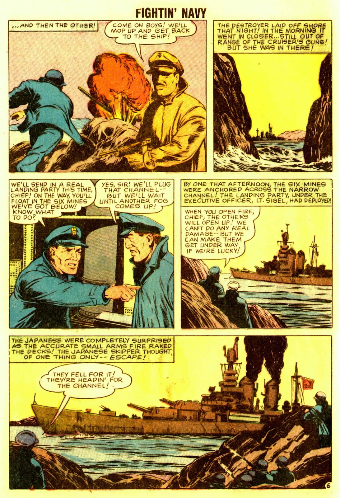 Read online Fightin' Navy comic -  Issue #83 - 72