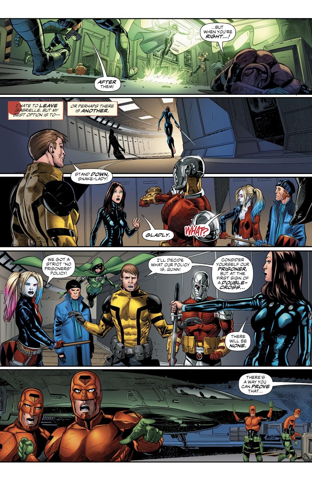 Read online Suicide Squad Black Files comic -  Issue #4 - 9
