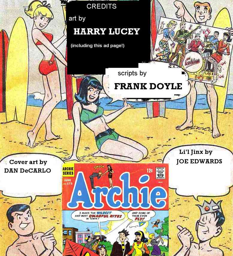 Read online Archie (1960) comic -  Issue #173 - 37