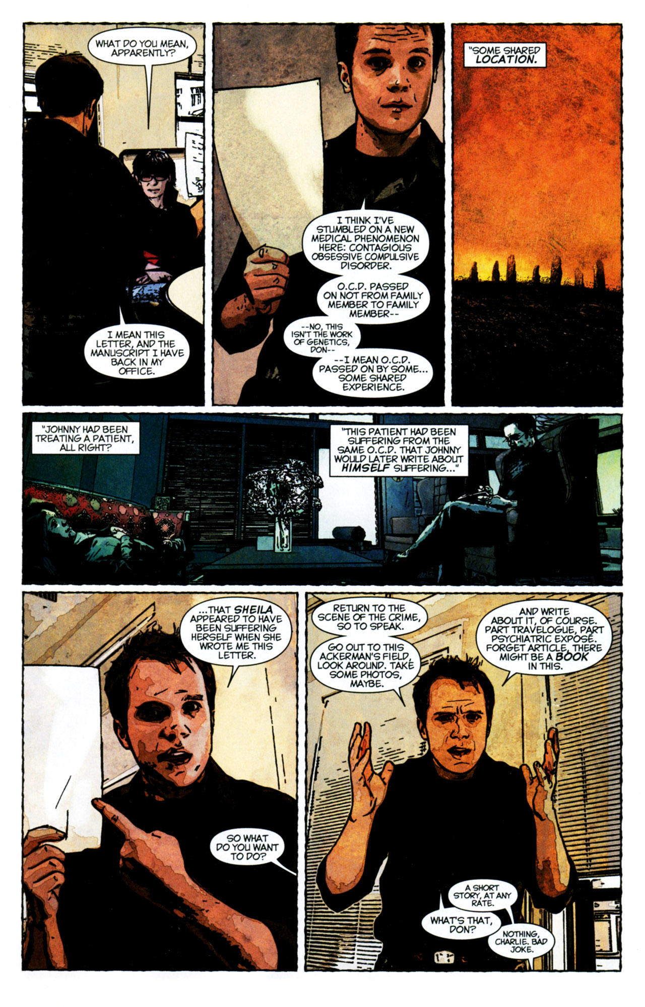 Read online Stephen King's N. comic -  Issue #4 - 11