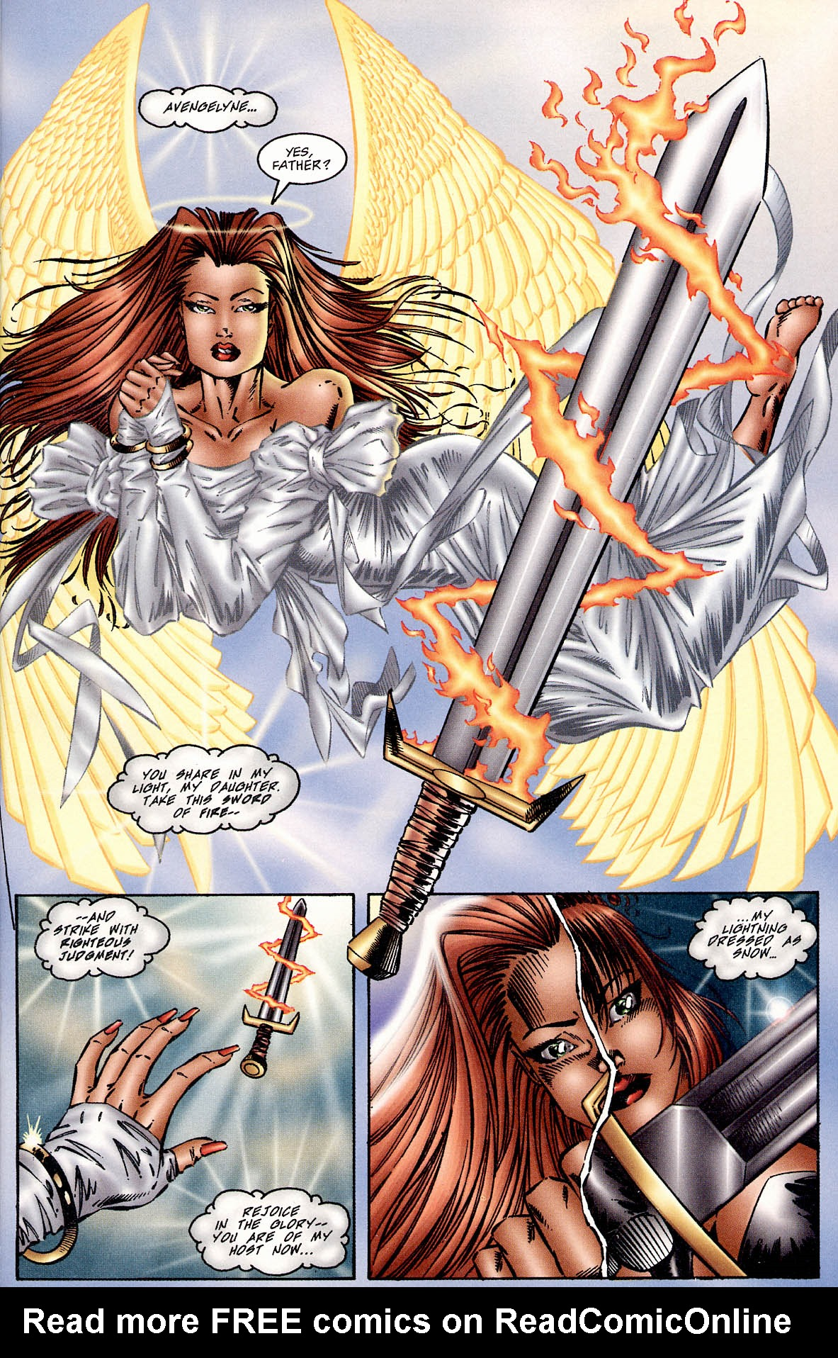 Read online Avengelyne (1995) comic -  Issue #2 - 7