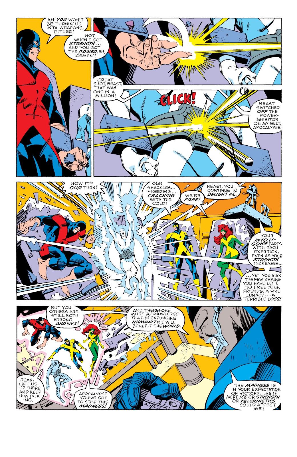 Read online X-Men Milestones: Fall of the Mutants comic -  Issue # TPB (Part 3) - 9