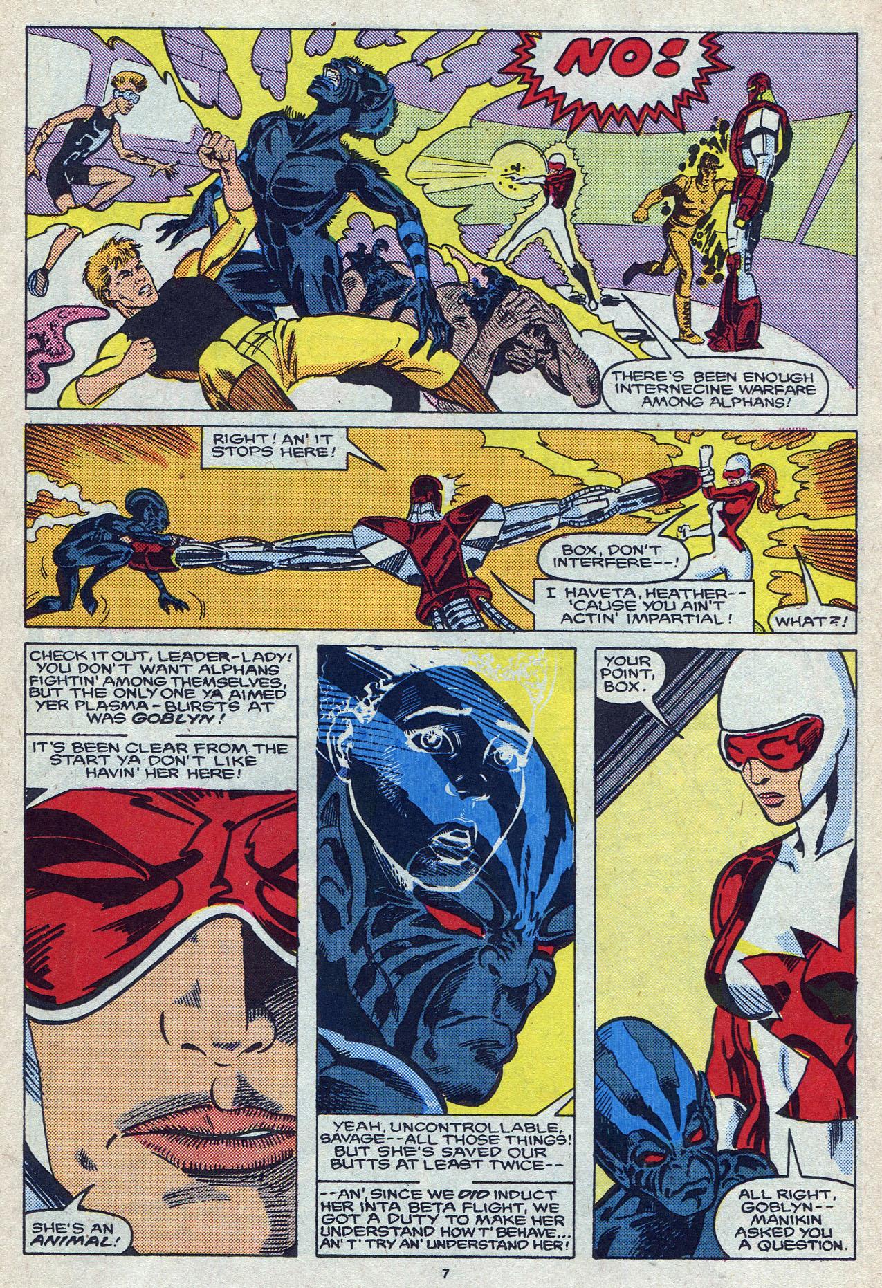 Read online Alpha Flight (1983) comic -  Issue #57 - 11