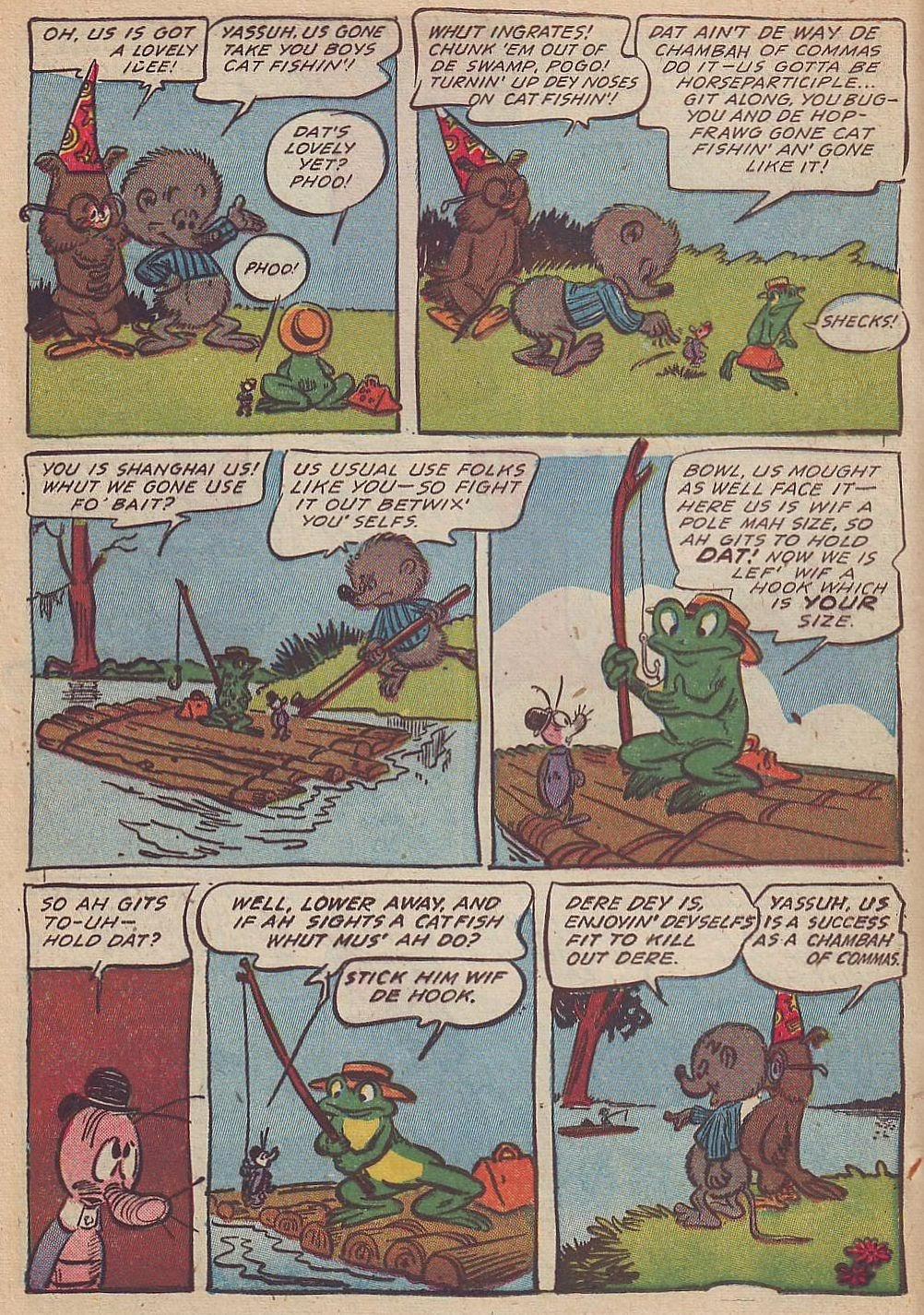 Read online Animal Comics comic -  Issue #20 - 16