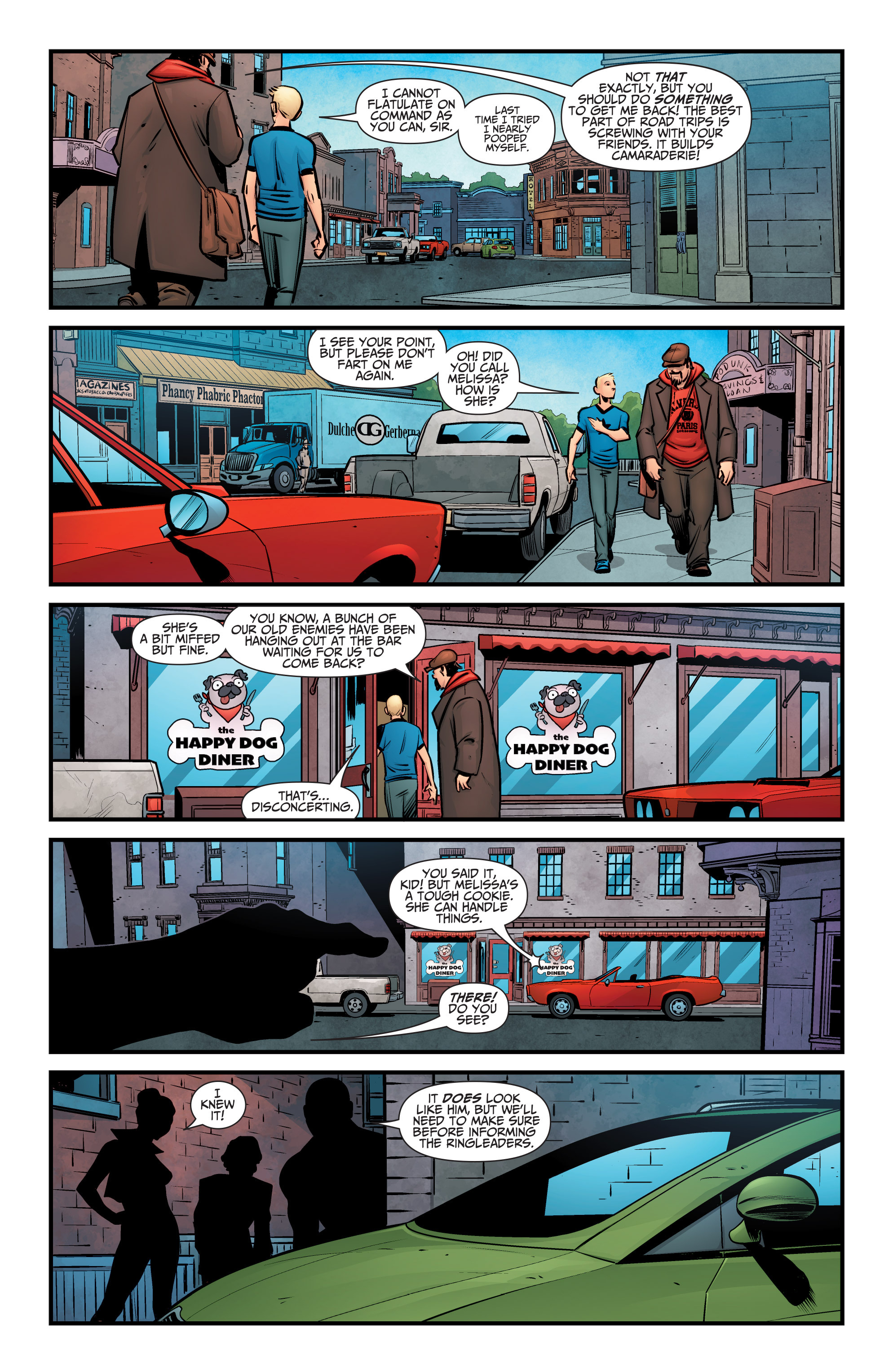 Read online A&A: The Adventures of Archer & Armstrong comic -  Issue #6 - 7