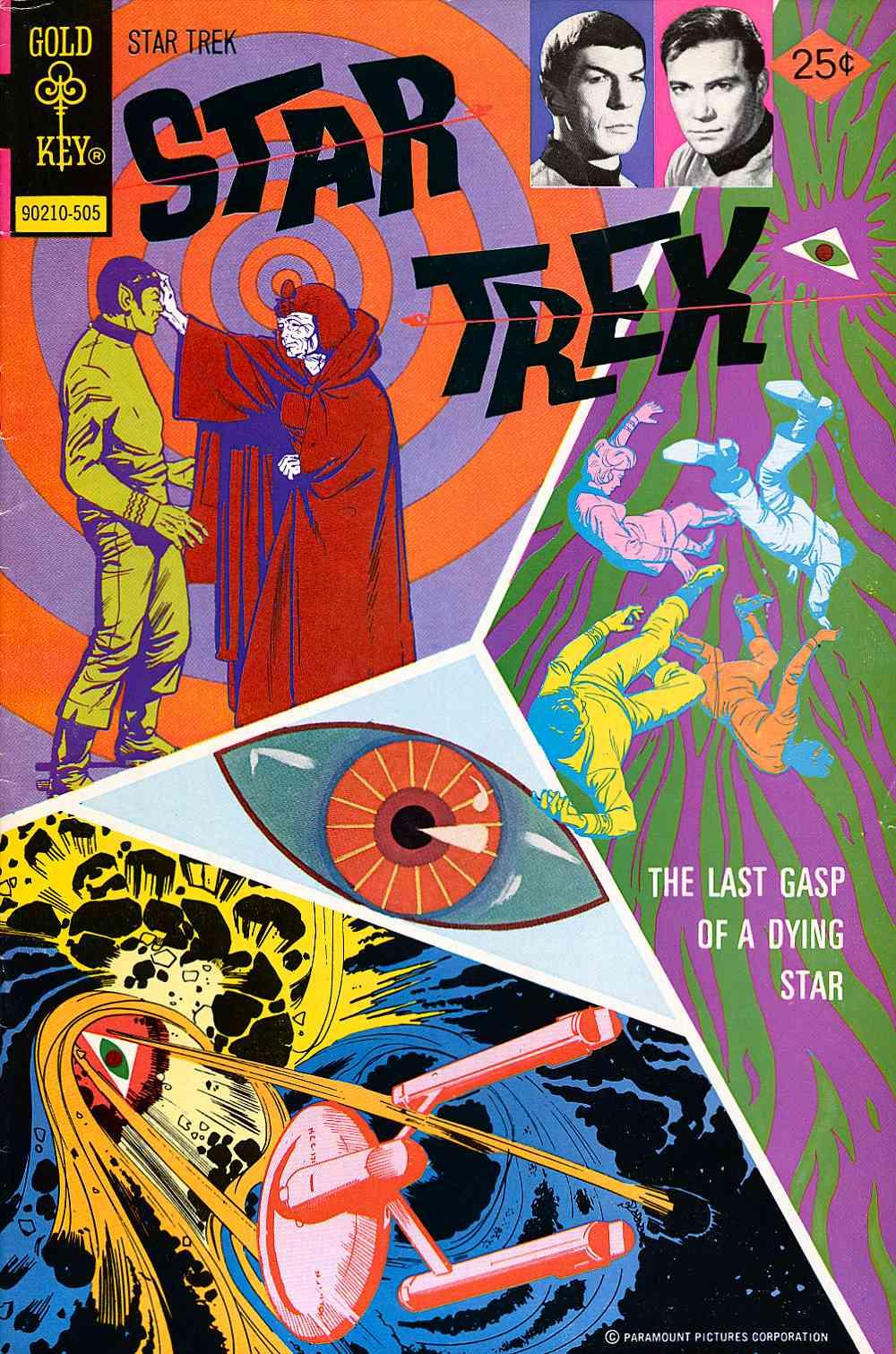 Star Trek (1967) issue 30 - Page 1