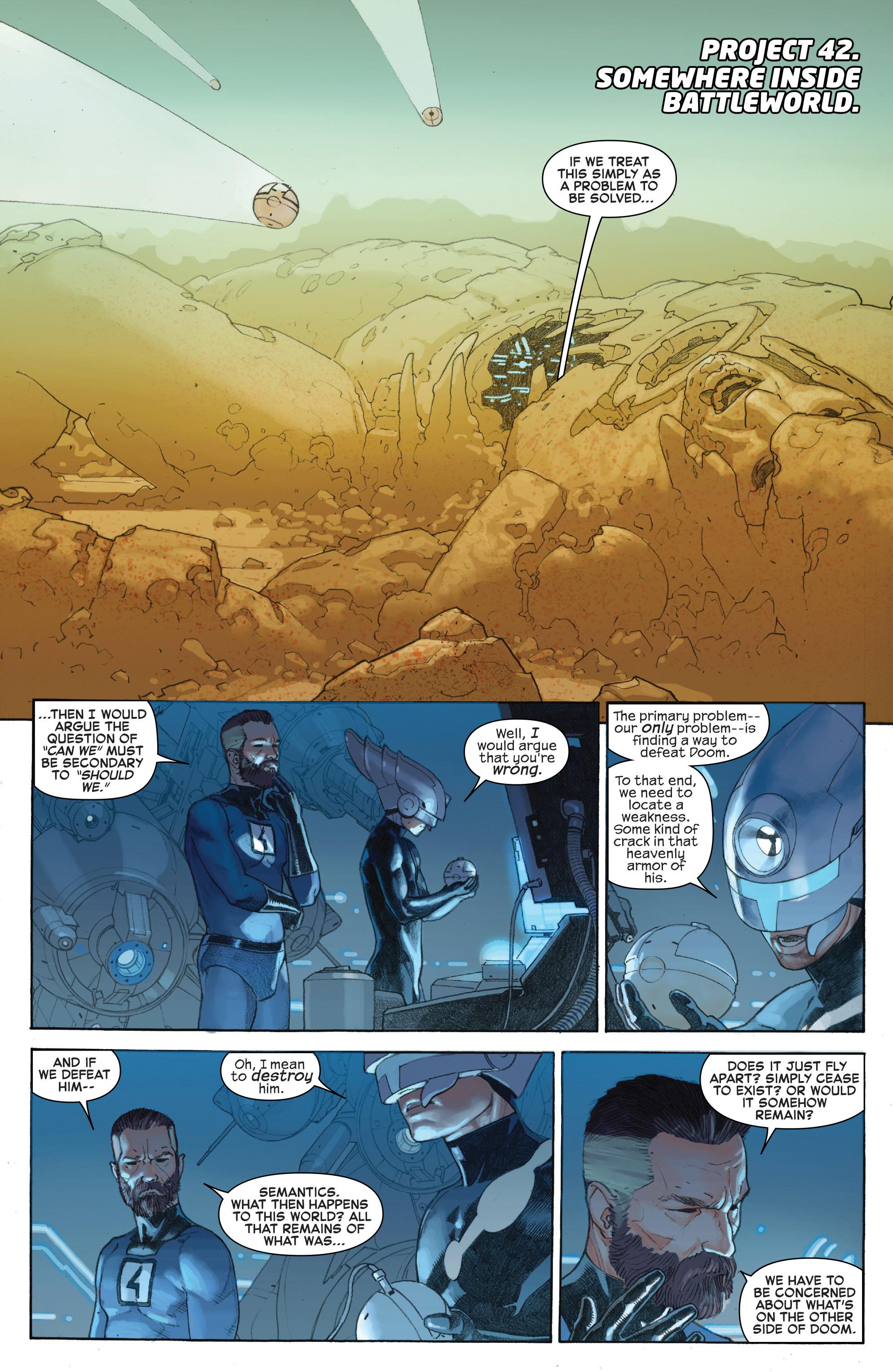 Read online Secret Wars comic -  Issue #6 - 10