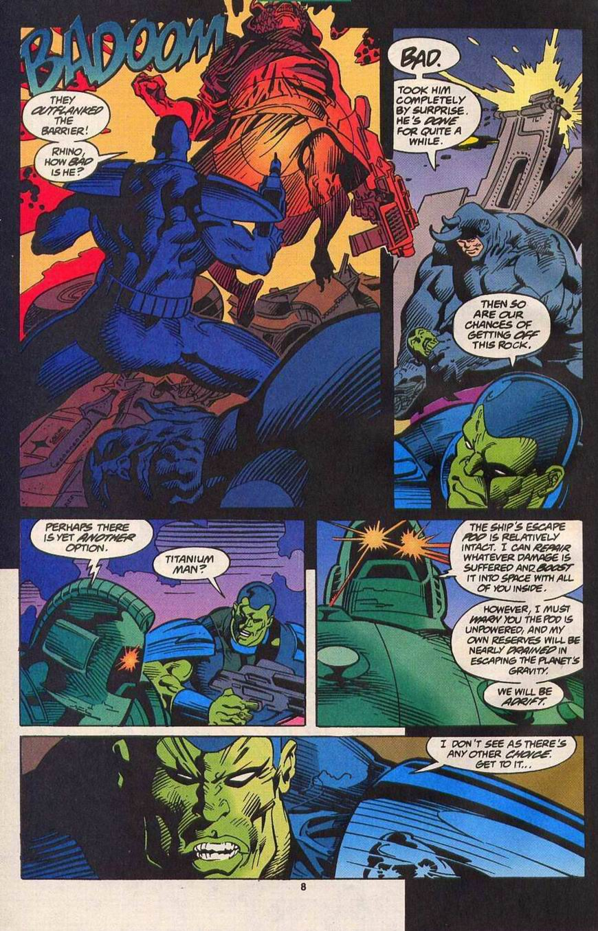 Read online Secret Defenders comic -  Issue #14 - 8